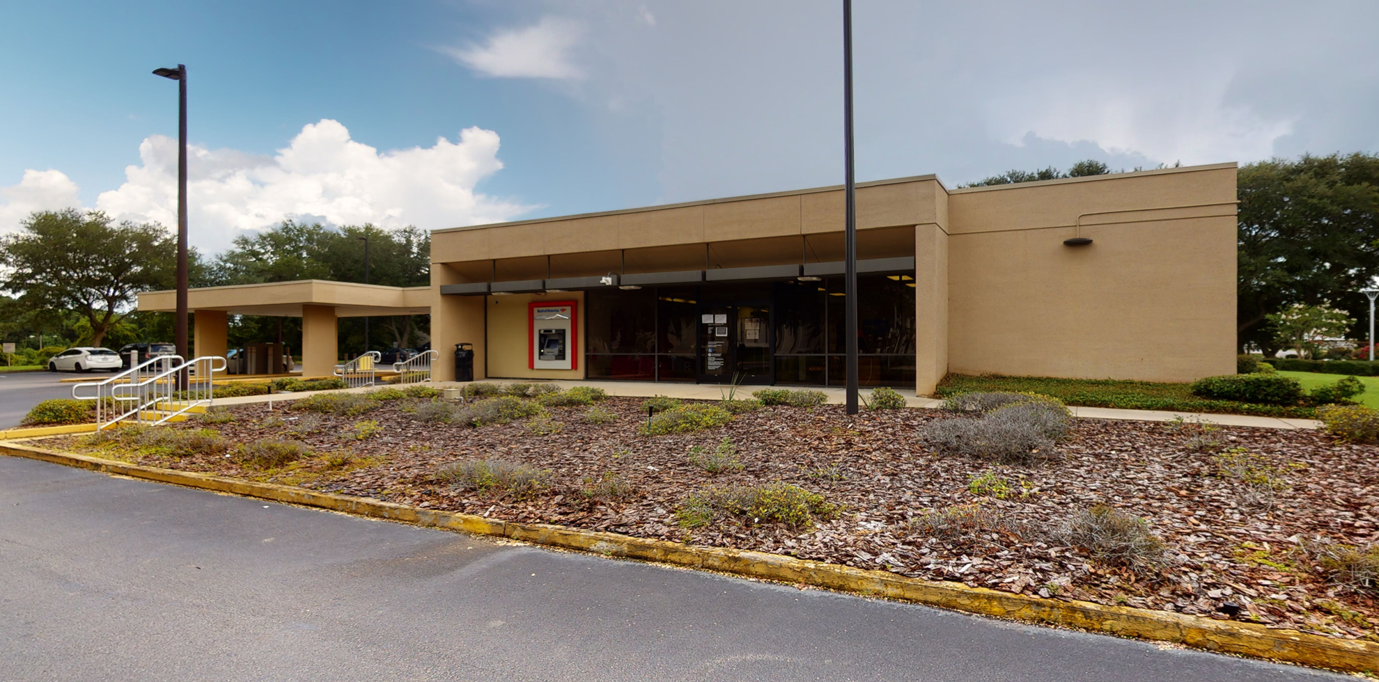 Bank of America financial center with drive-thru ATM and teller   2930 Apalachee Pkwy, Tallahassee, FL 32301