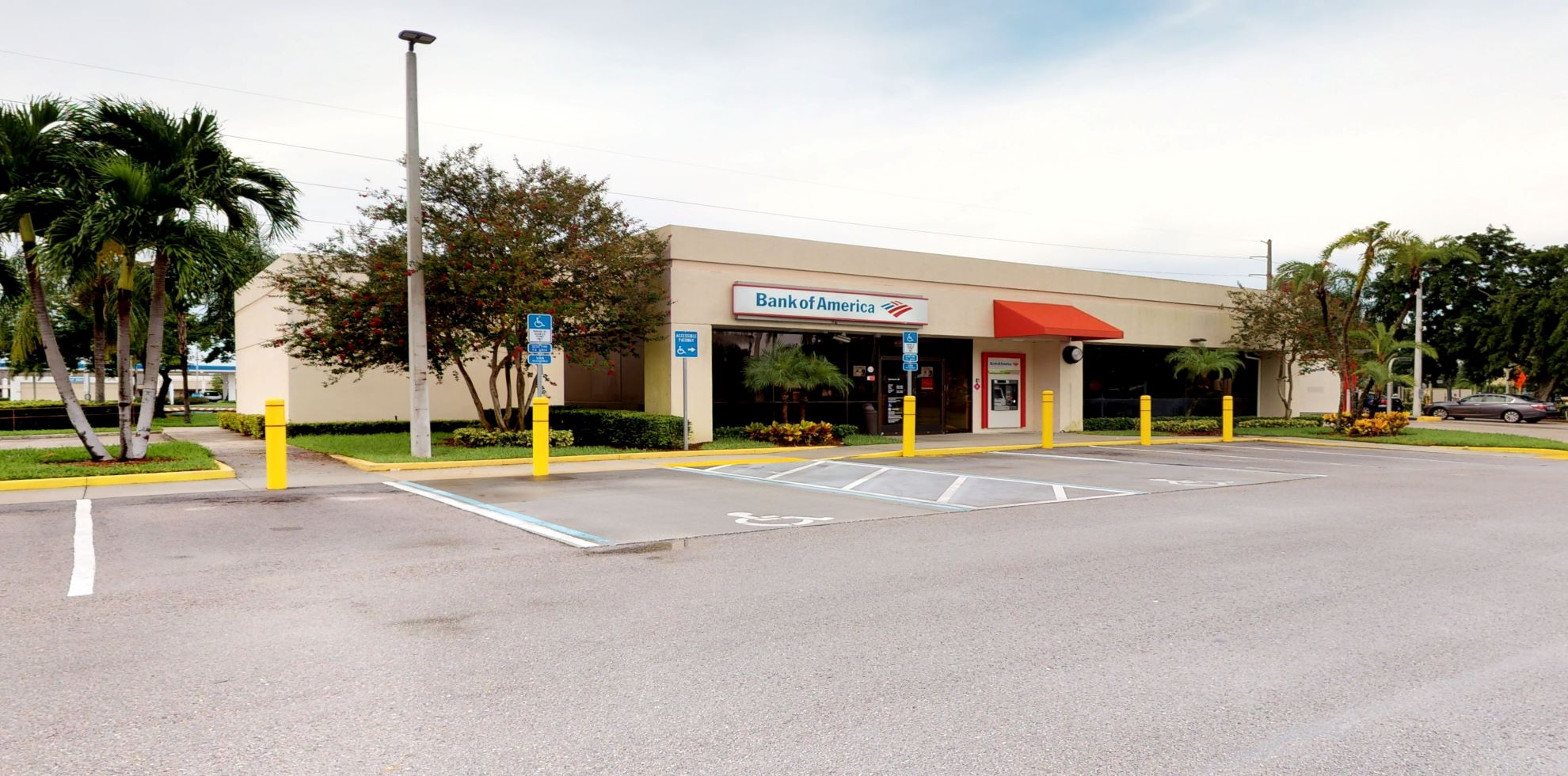 Bank of America financial center with drive-thru ATM and teller   7024 W Palmetto Park Rd, Boca Raton, FL 33433