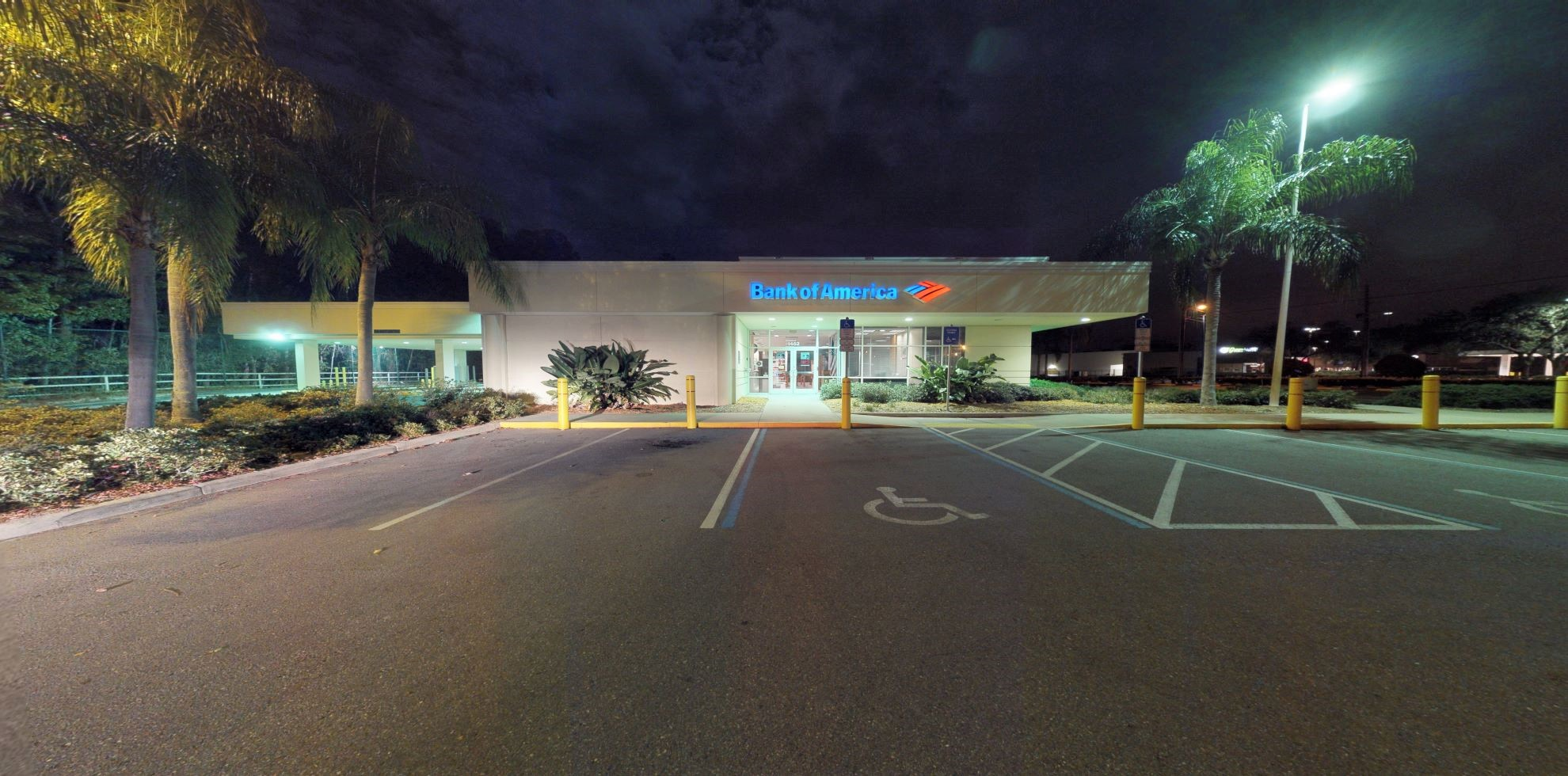 Bank of America financial center with drive-thru ATM   1452 Seven Springs Blvd, New Port Richey, FL 34655