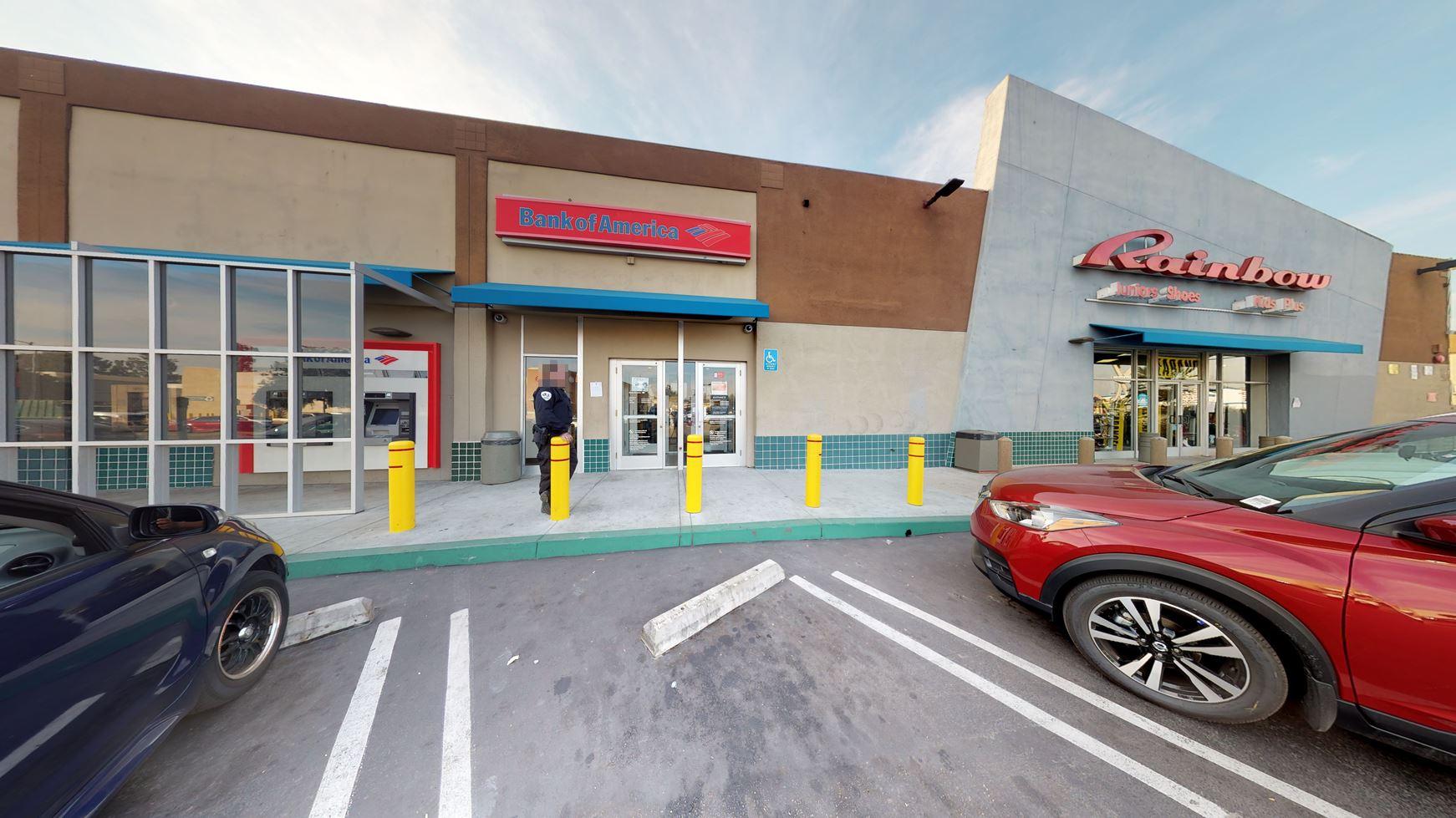 Bank of America financial center with walk-up ATM | 3615 S La Brea Ave, Los Angeles, CA 90016