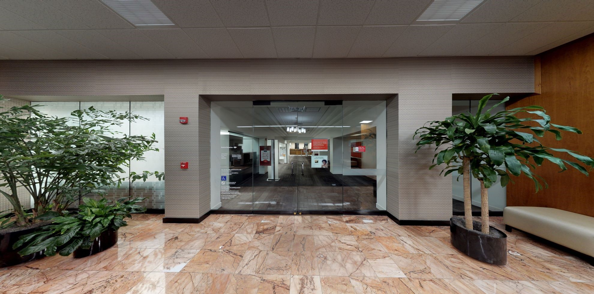Bank of America financial center with drive-thru ATM   315 S Calhoun St, Tallahassee, FL 32301