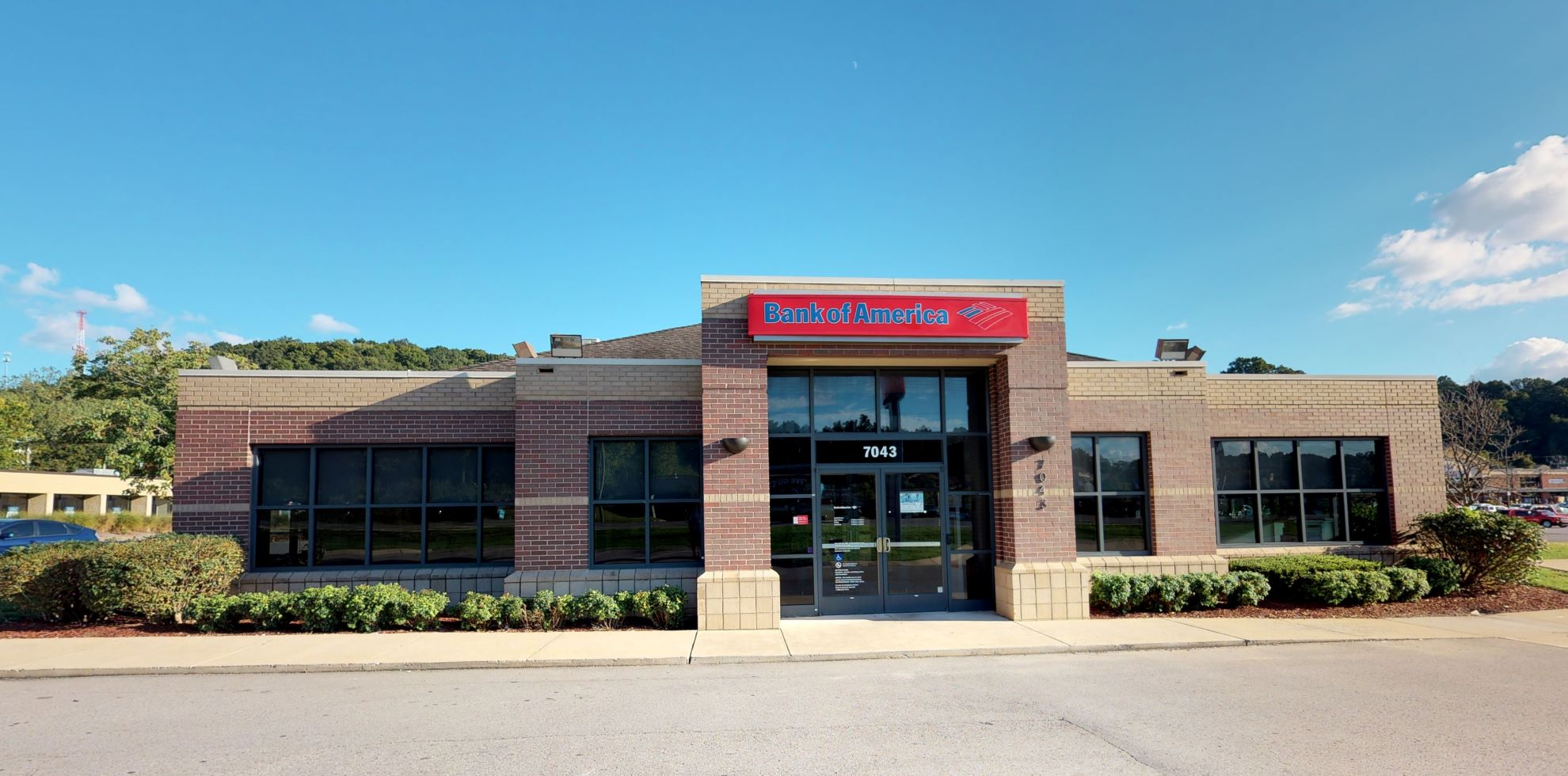 Bank of America financial center with drive-thru ATM | 7043 Highway 70 S, Nashville, TN 37221