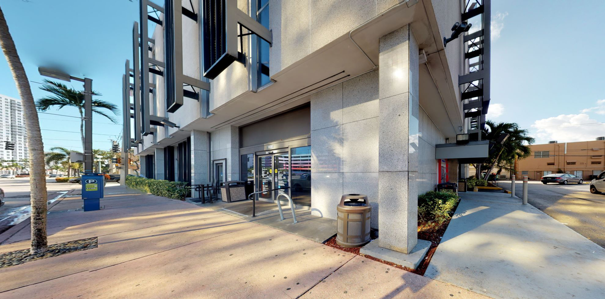 Bank of America financial center with drive-thru ATM | 1900 Tyler St, Hollywood, FL 33020