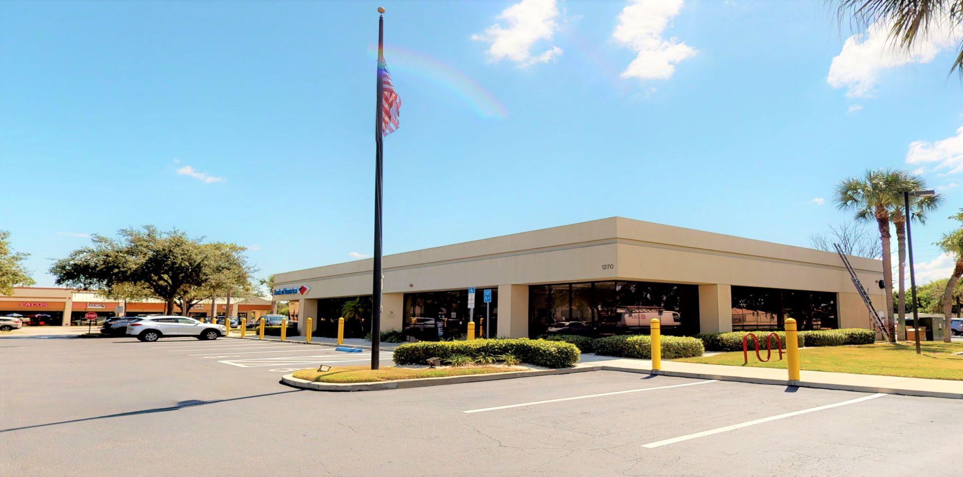 Bank of America financial center with drive-thru ATM   1270 Jacaranda Blvd, Venice, FL 34292