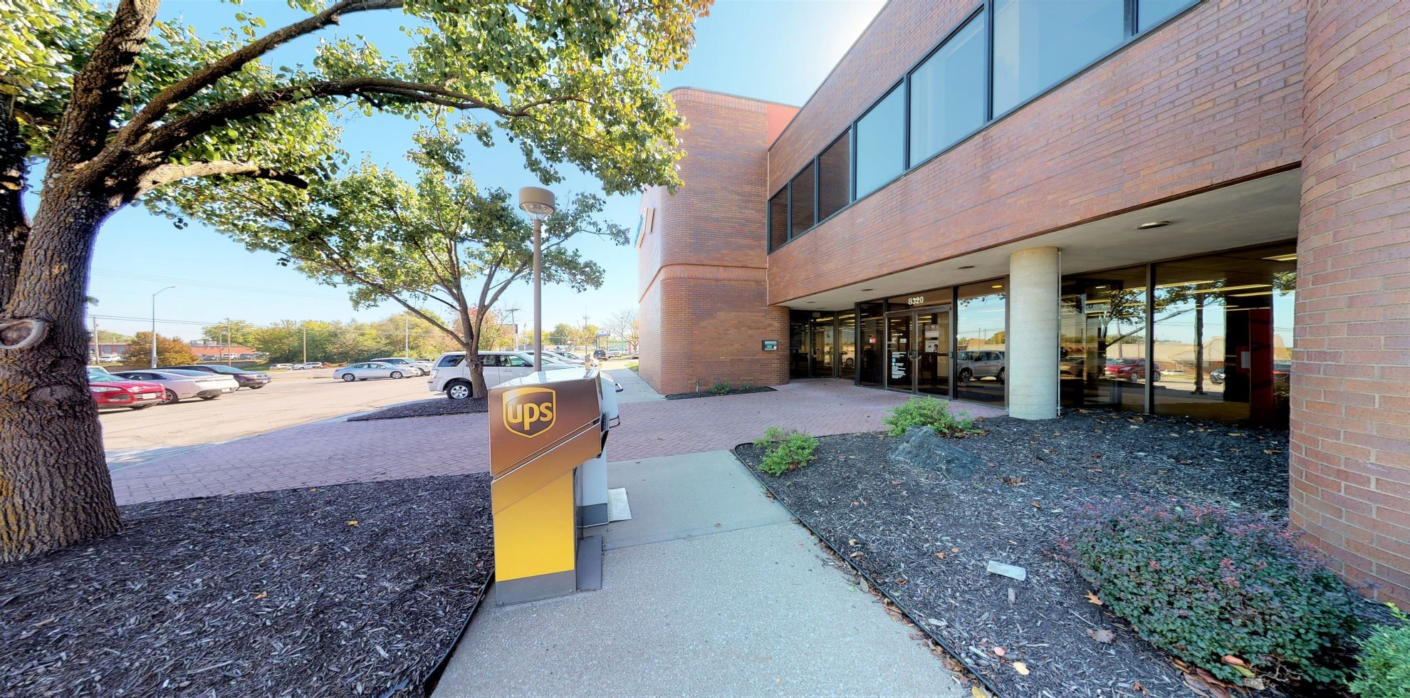 Bank of America financial center with drive-thru ATM   8320 N Oak Trfy, Kansas City, MO 64118