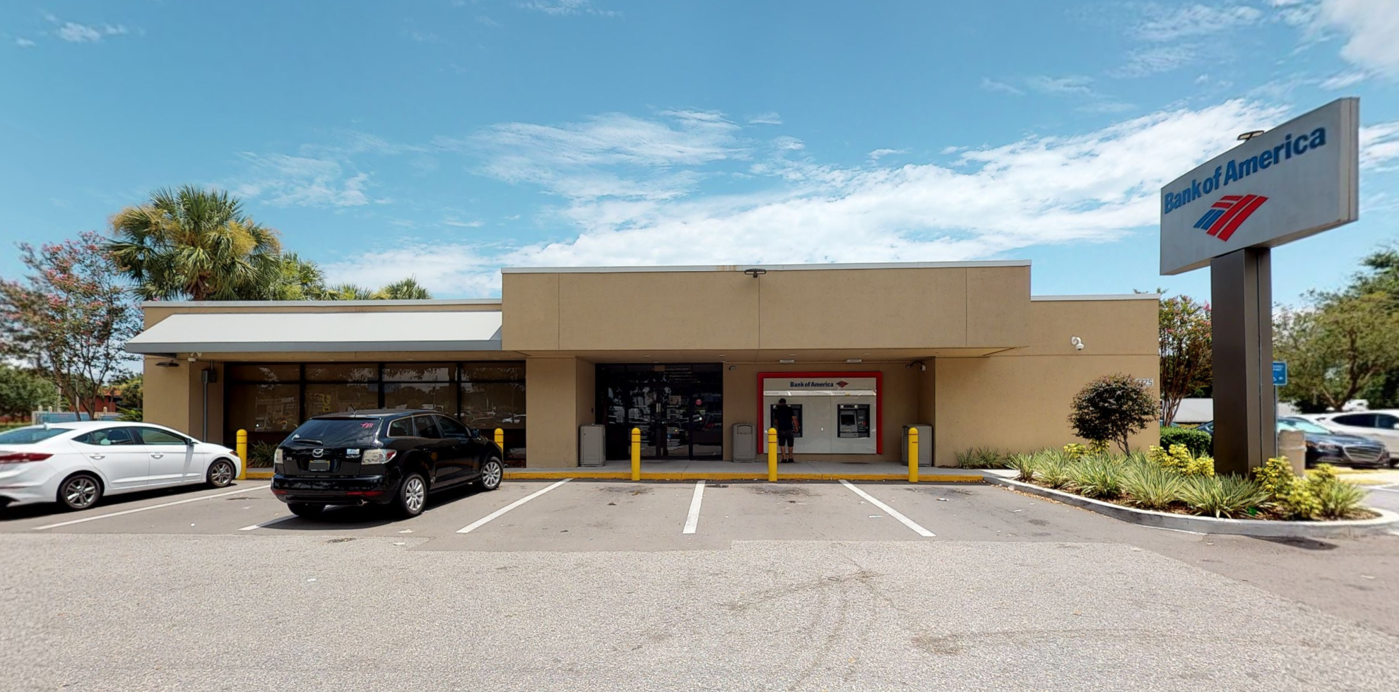 Bank of America financial center with drive-thru ATM and teller | 4725 S Kirkman Rd, Orlando, FL 32811