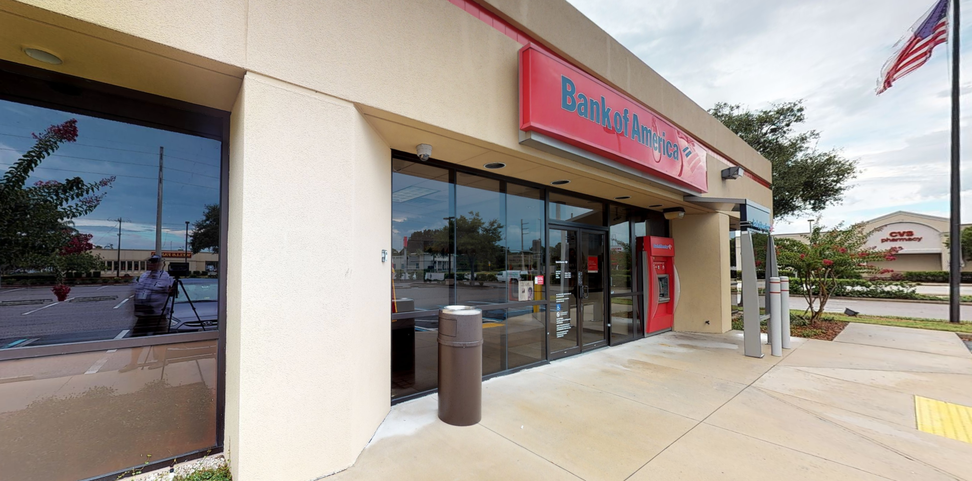 Bank of America financial center with drive-thru ATM | 1785 S McCall Rd, Englewood, FL 34223