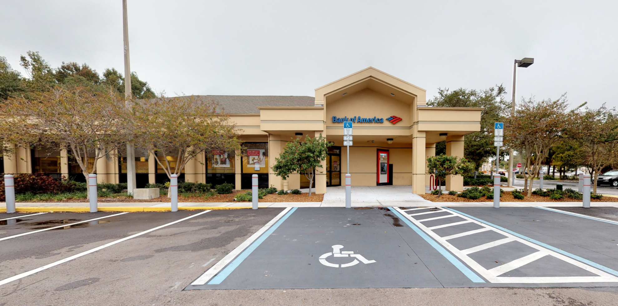 Bank of America financial center with drive-thru ATM   1610 S Missouri Ave, Clearwater, FL 33756