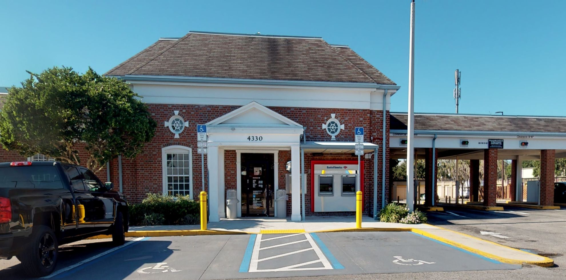 Bank of America financial center with drive-thru ATM | 4330 US Highway 98 N, Lakeland, FL 33809