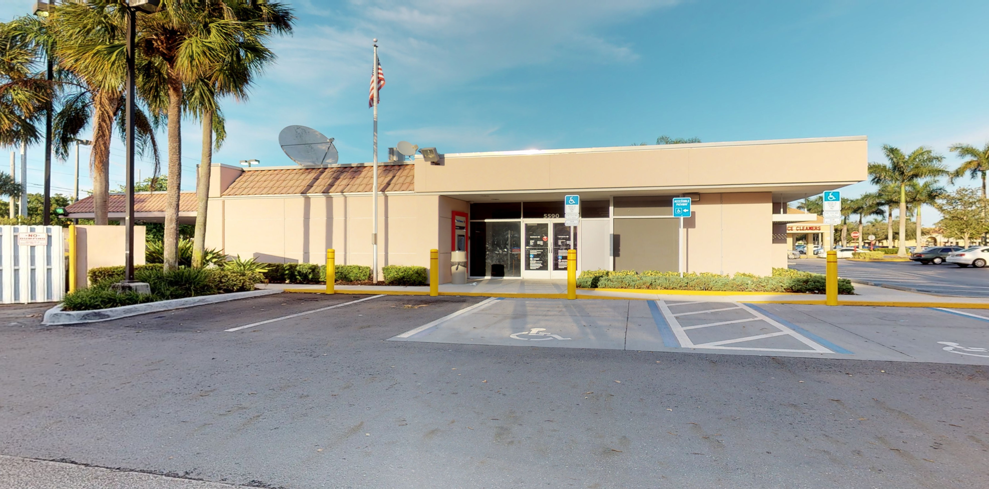 Bank of America financial center with drive-thru ATM | 5590 W Sample Rd, Margate, FL 33073