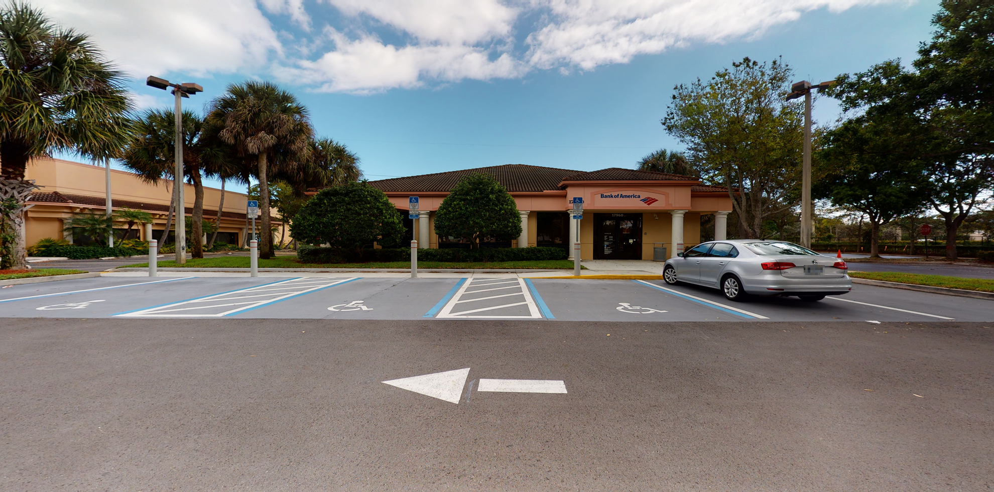 Bank of America financial center with drive-thru ATM and teller   17960 S Military Trl, Boca Raton, FL 33496