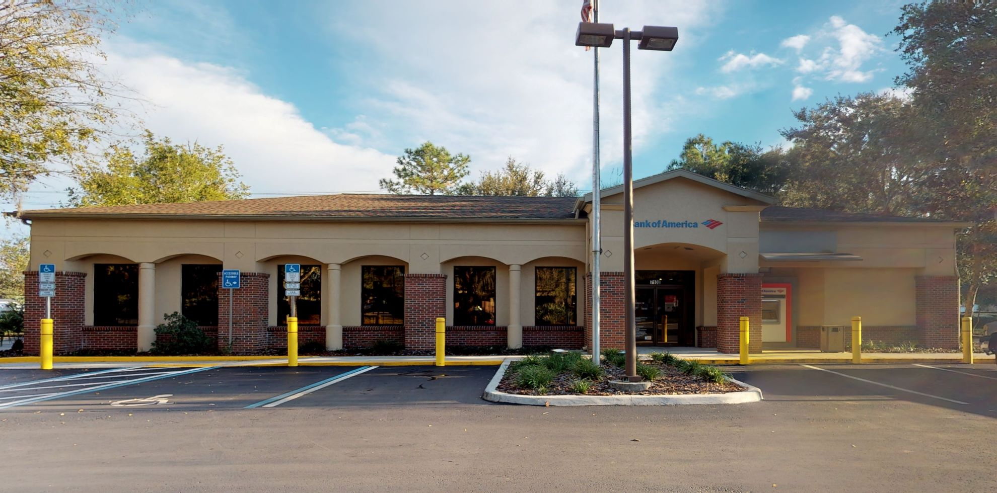 Bank of America financial center with drive-thru ATM   7100 SW Archer Rd, Gainesville, FL 32608