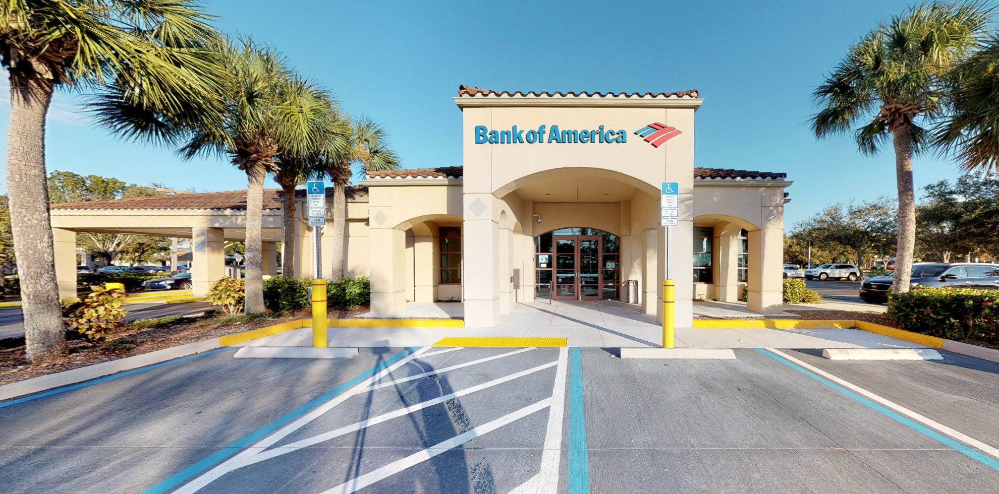 Bank of America financial center with drive-thru ATM and teller | 1511 Matthew Dr, Fort Myers, FL 33907