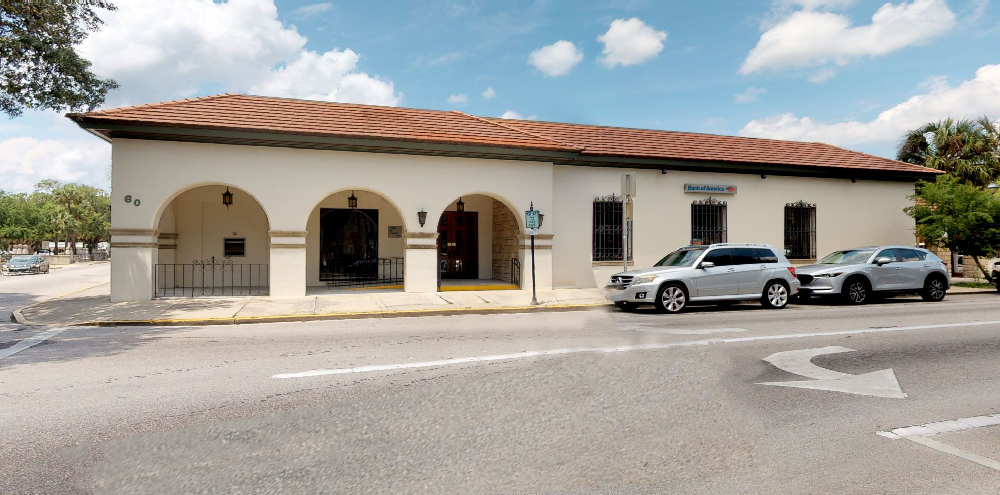 Bank of America financial center with walk-up ATM | 60 Cathedral Pl, Saint Augustine, FL 32084