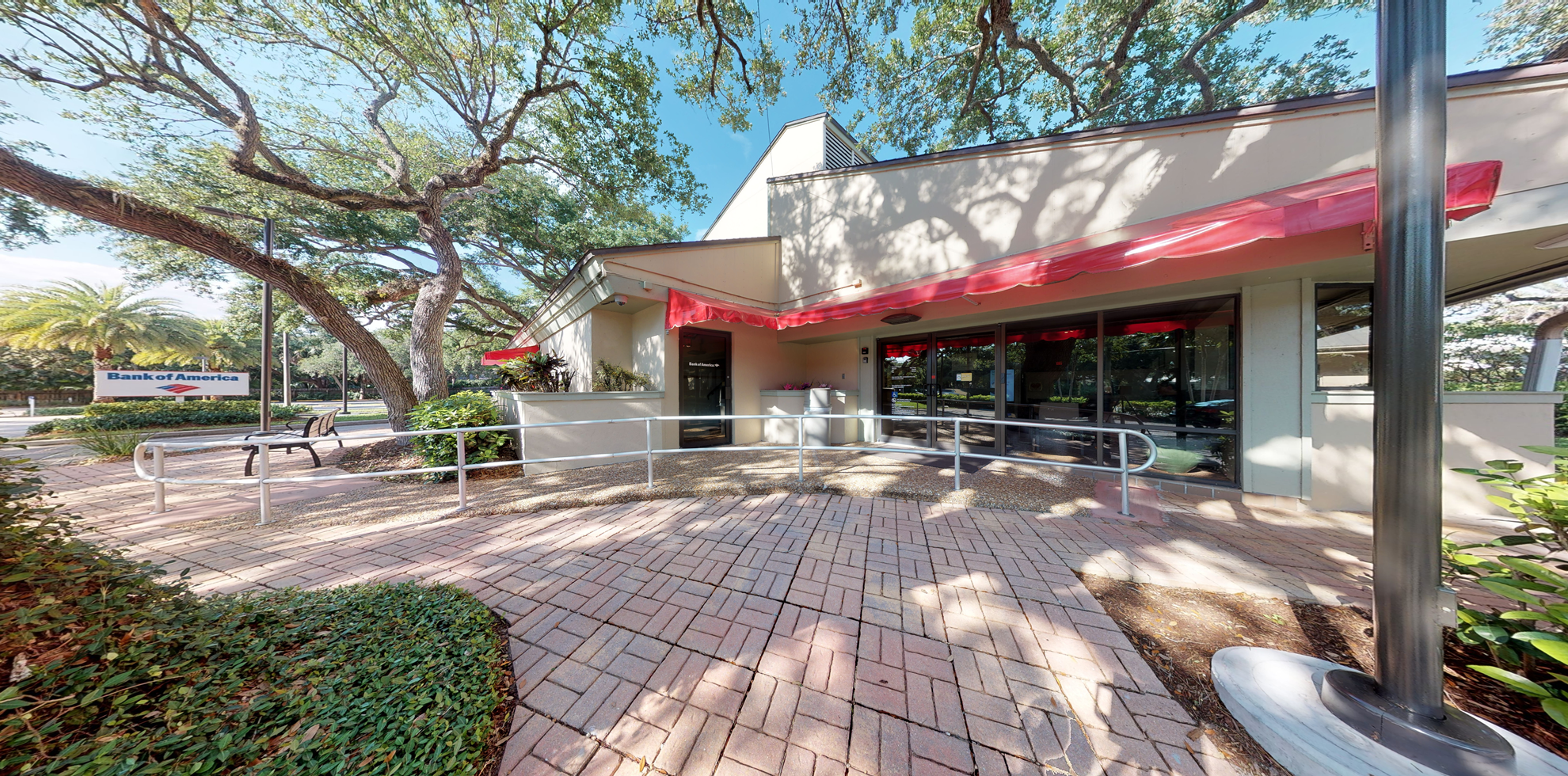 Bank of America financial center with walk-up ATM   6300 Highway A1A, Indian River Shores, FL 32963