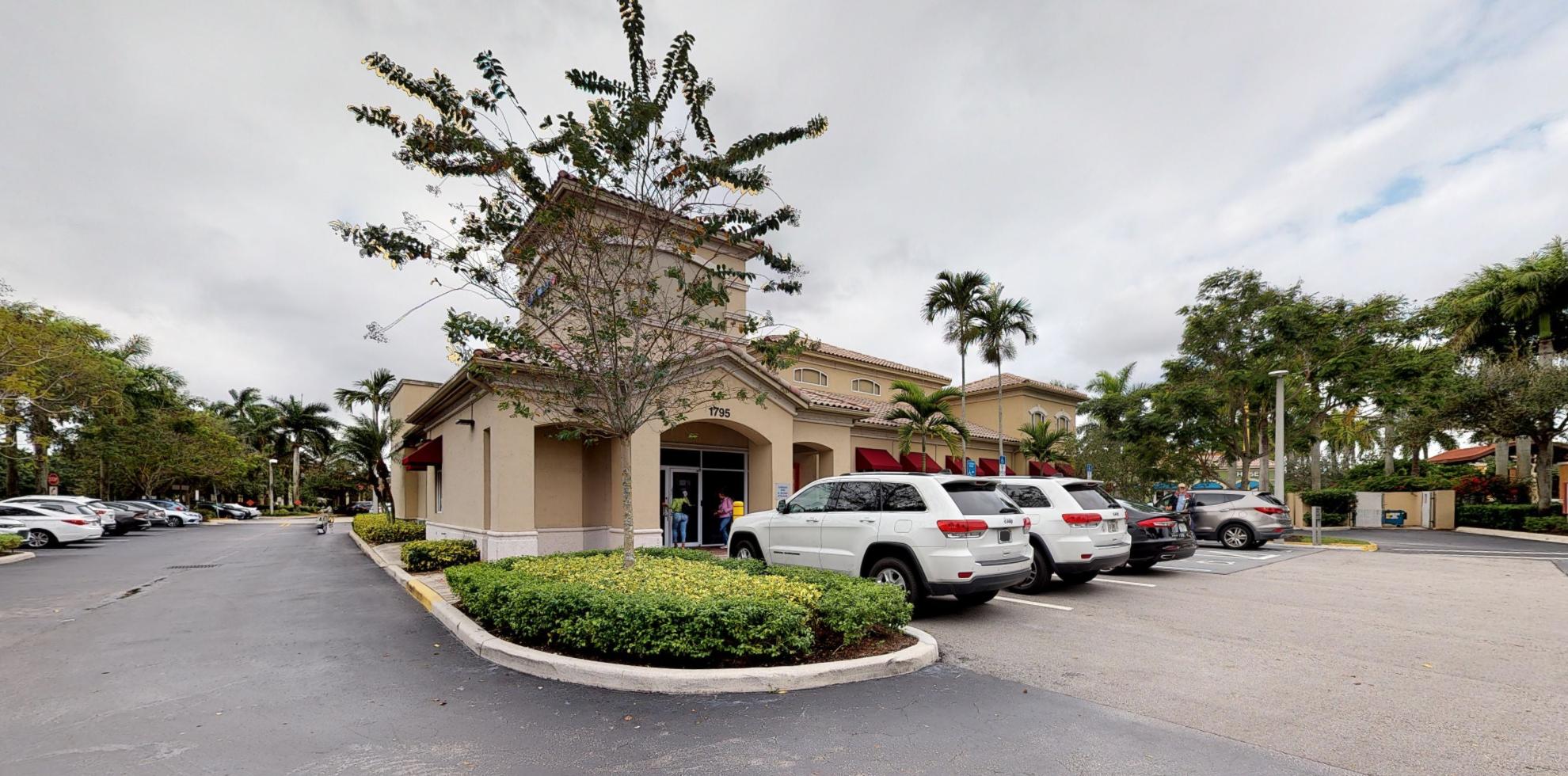 Bank of America financial center with drive-thru ATM   1795 Bonaventure Blvd, Weston, FL 33326