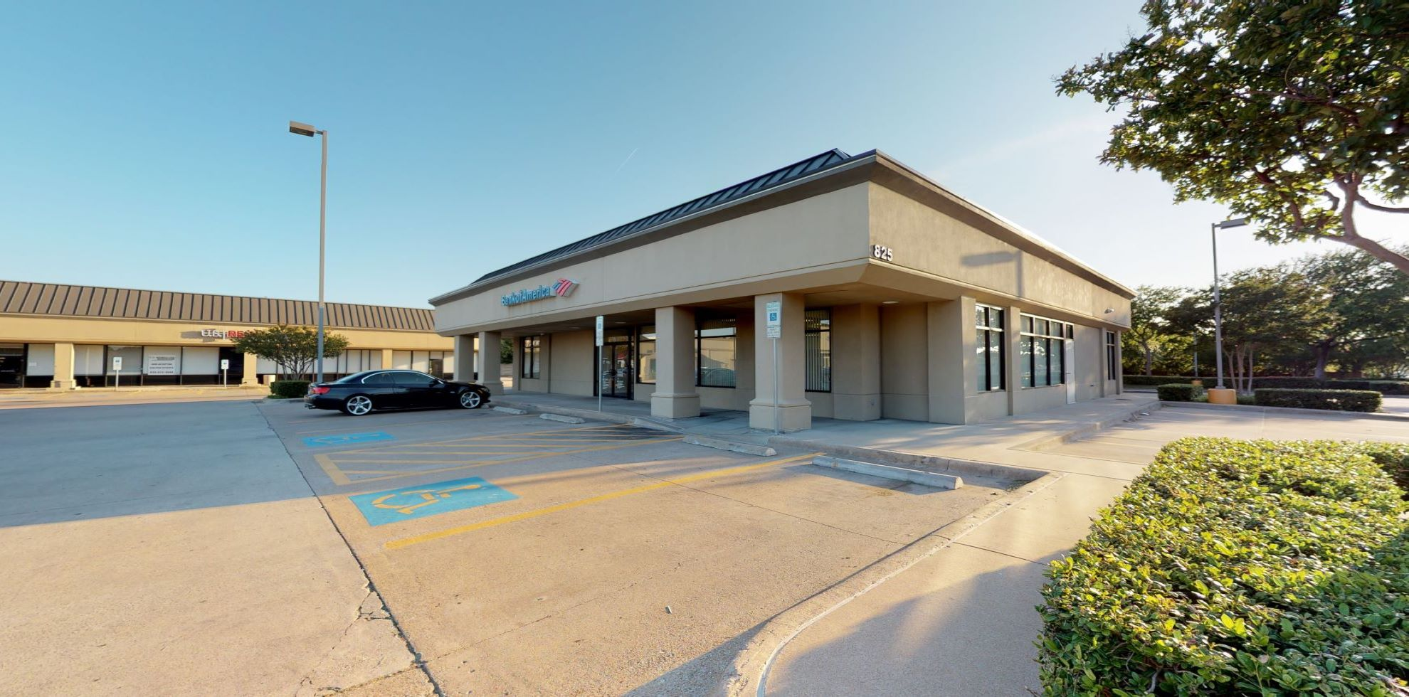 Bank of America financial center with drive-thru ATM | 825 Cross Timbers Rd, Flower Mound, TX 75028