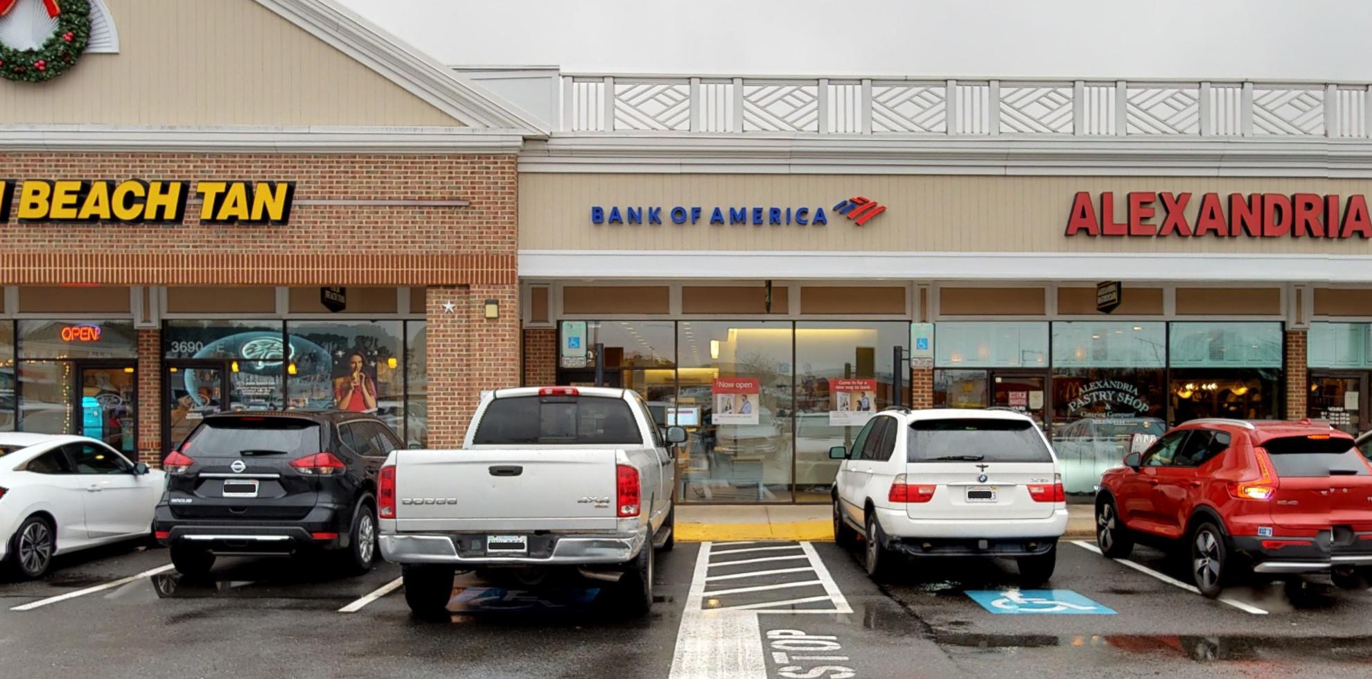 Bank of America financial center with drive-thru ATM   10075 E Via Linda, Scottsdale, AZ 85258