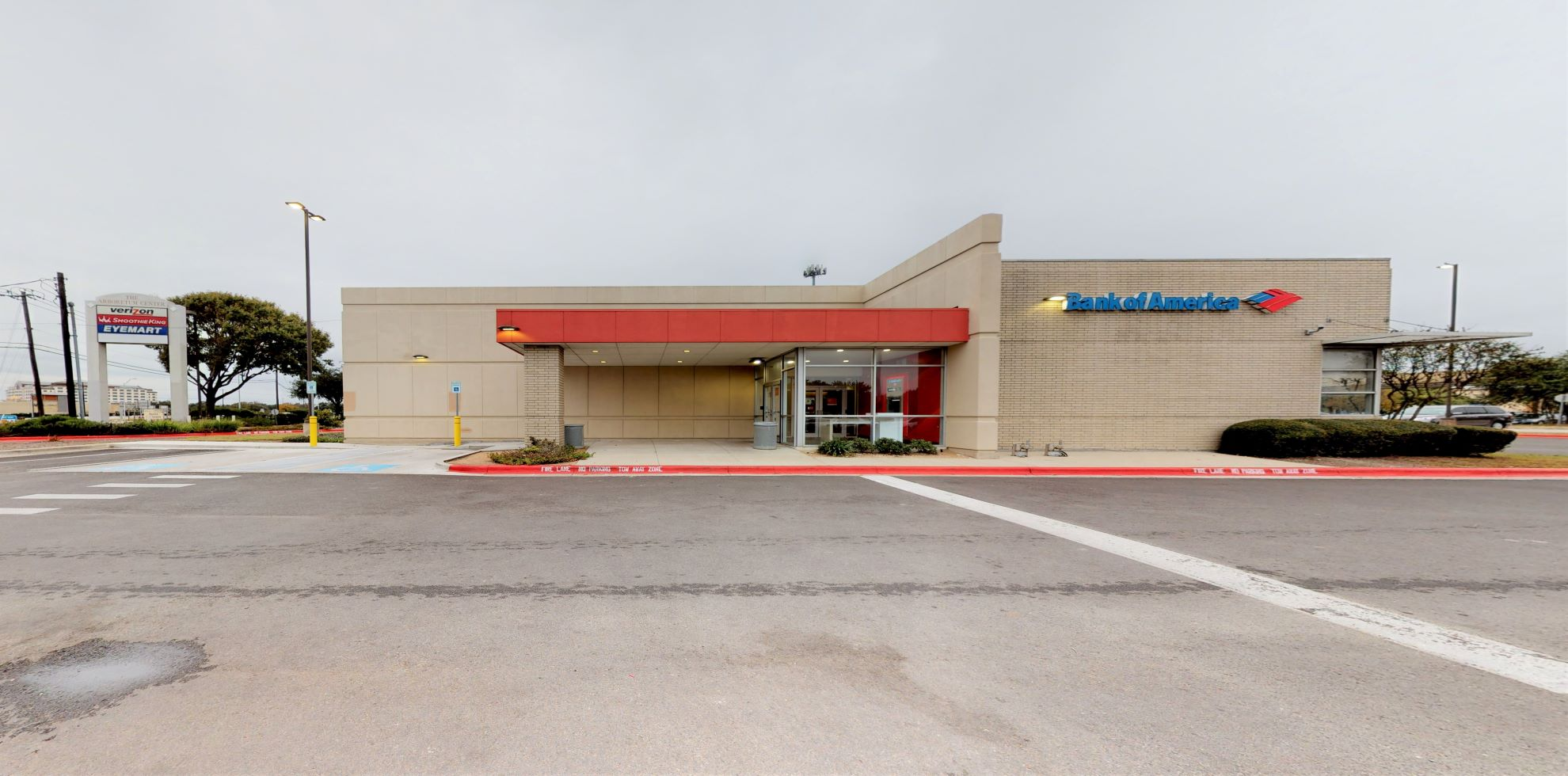Bank of America financial center with drive-thru ATM   9701 Research Blvd, Austin, TX 78759