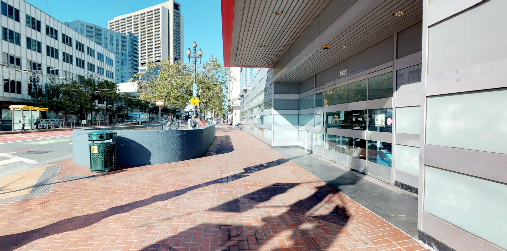 Bank of America financial center with walk-up ATM | 1525 Market St, San Francisco, CA 94103