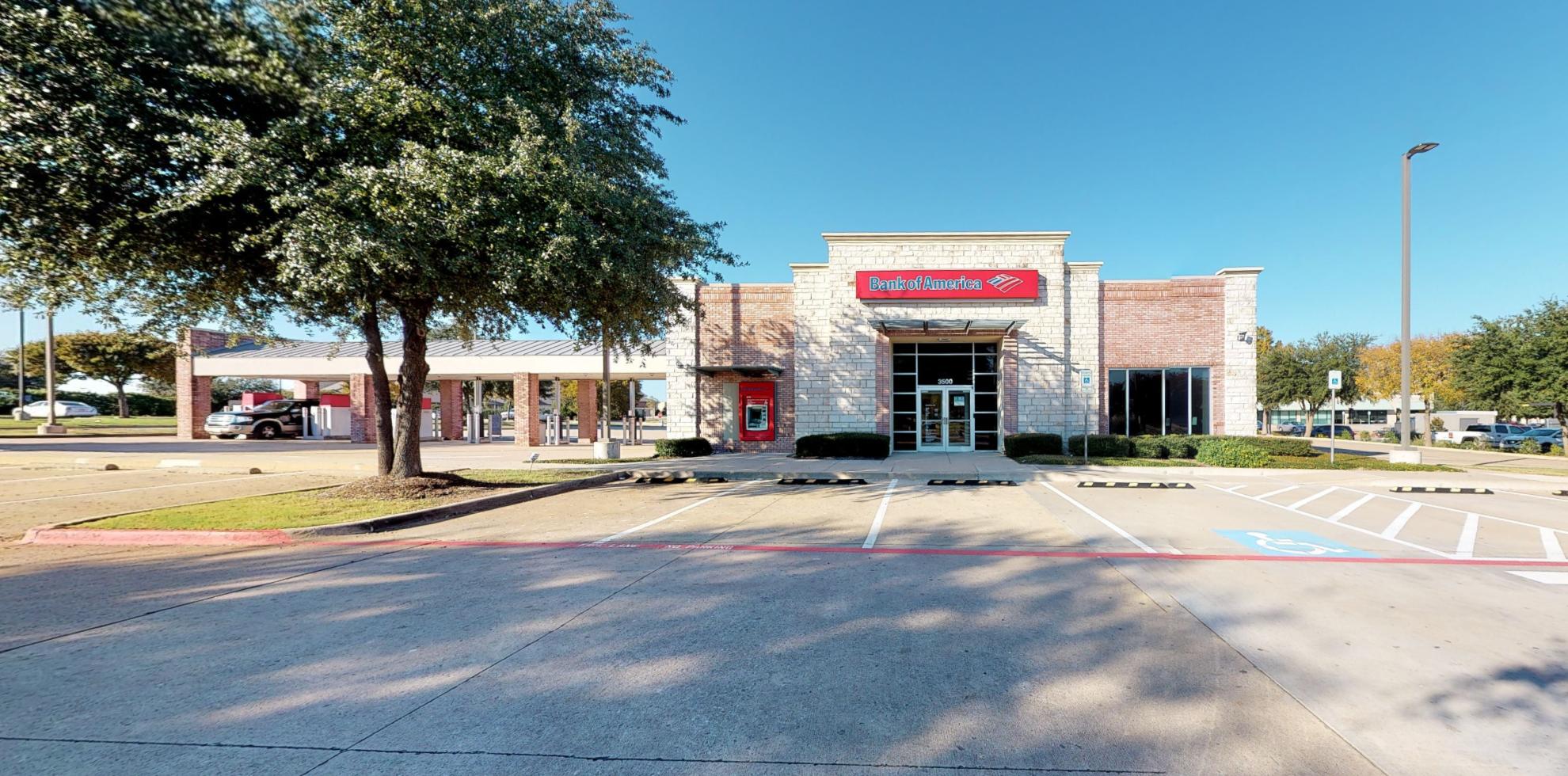 Bank of America financial center with drive-thru ATM | 3500 Eldorado Pkwy, McKinney, TX 75070