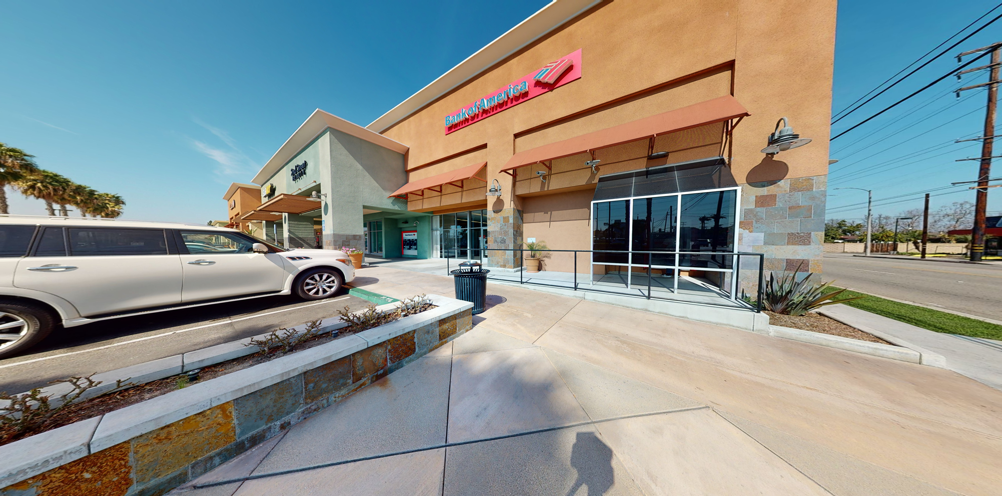 Bank of America financial center with walk-up ATM   6351 E Spring St, Long Beach, CA 90808
