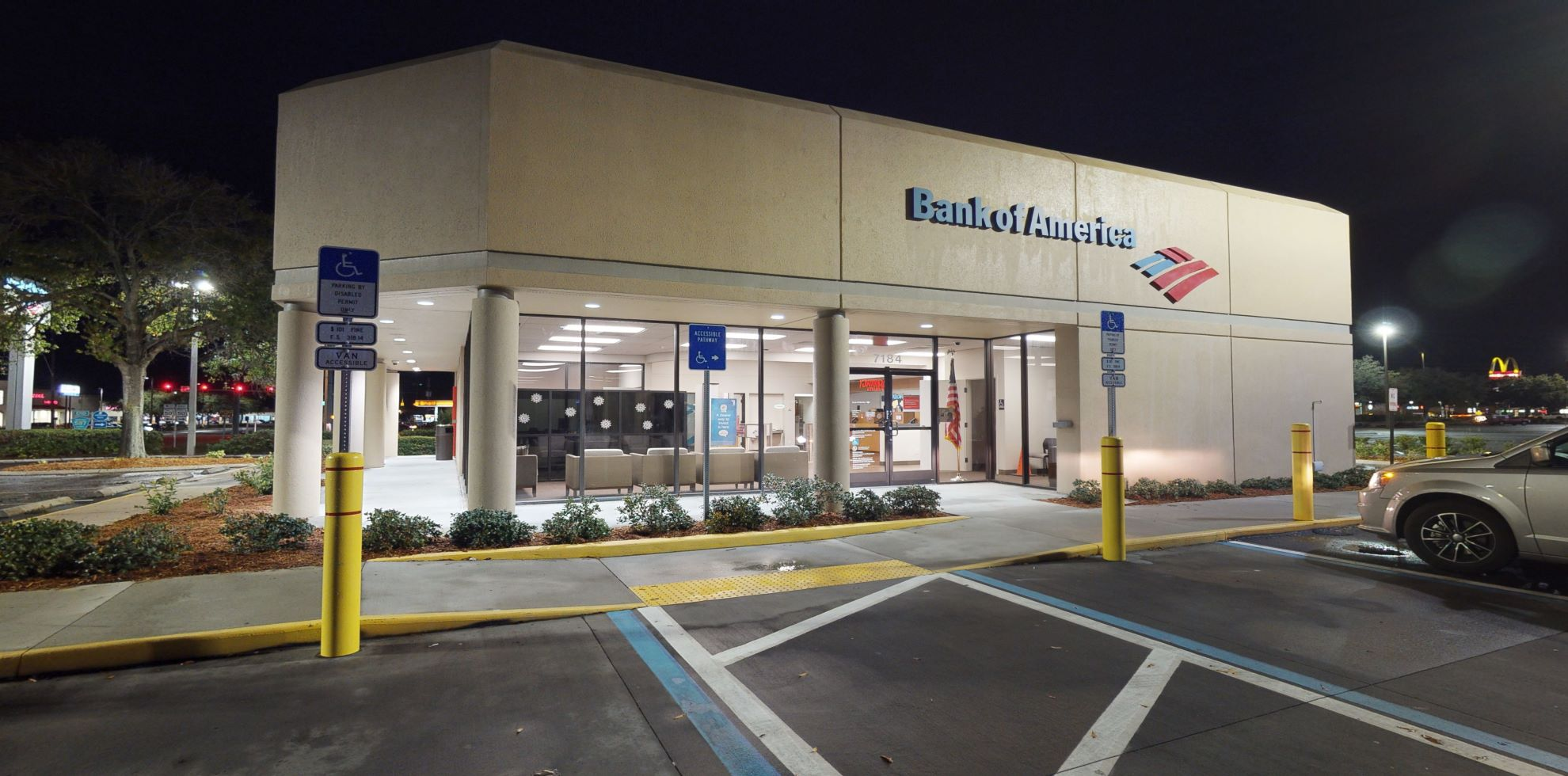 Bank of America financial center with drive-thru ATM | 7184 Mariner Blvd, Spring Hill, FL 34609