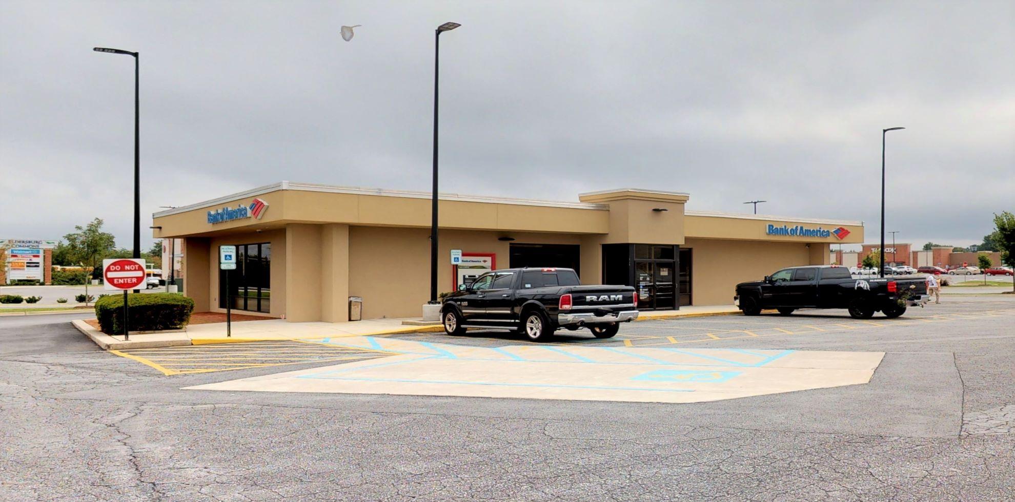 Bank of America financial center with drive-thru ATM | 6400 Ridge Rd, Eldersburg, MD 21784