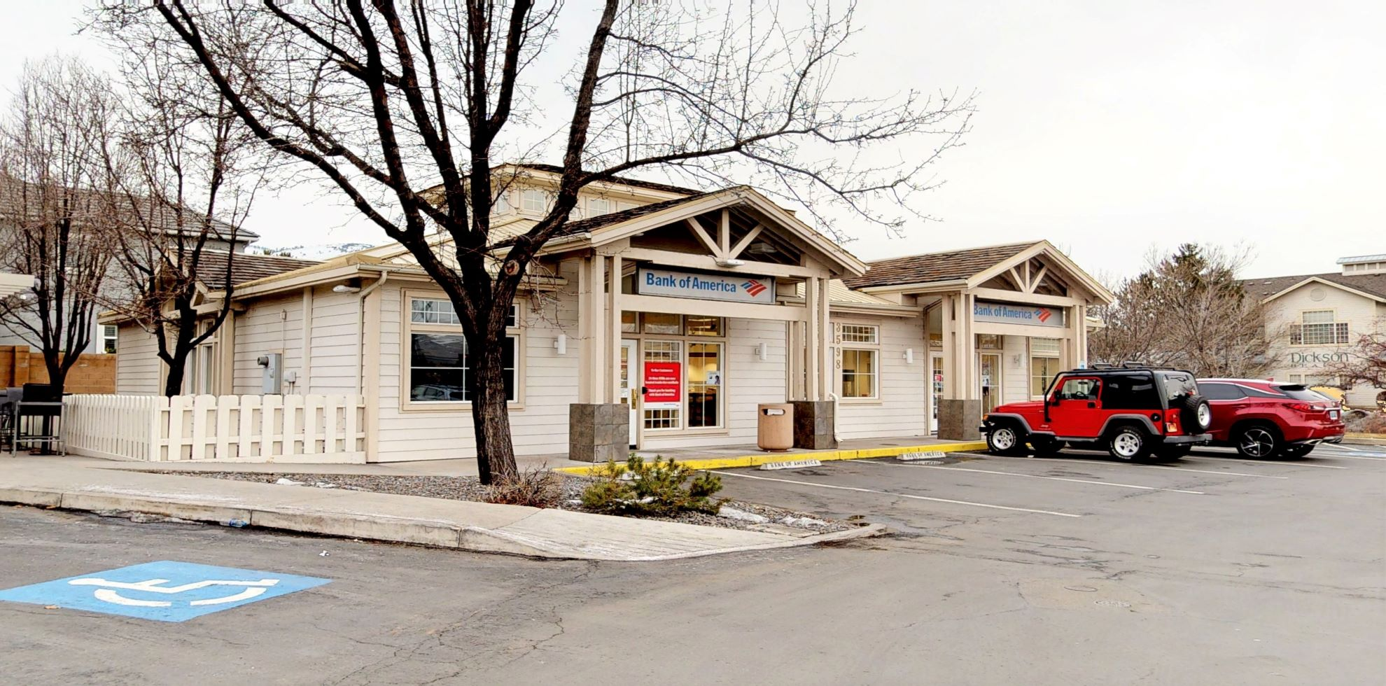 Bank of America financial center with walk-up ATM   3598 W Plumb Ln, Reno, NV 89509
