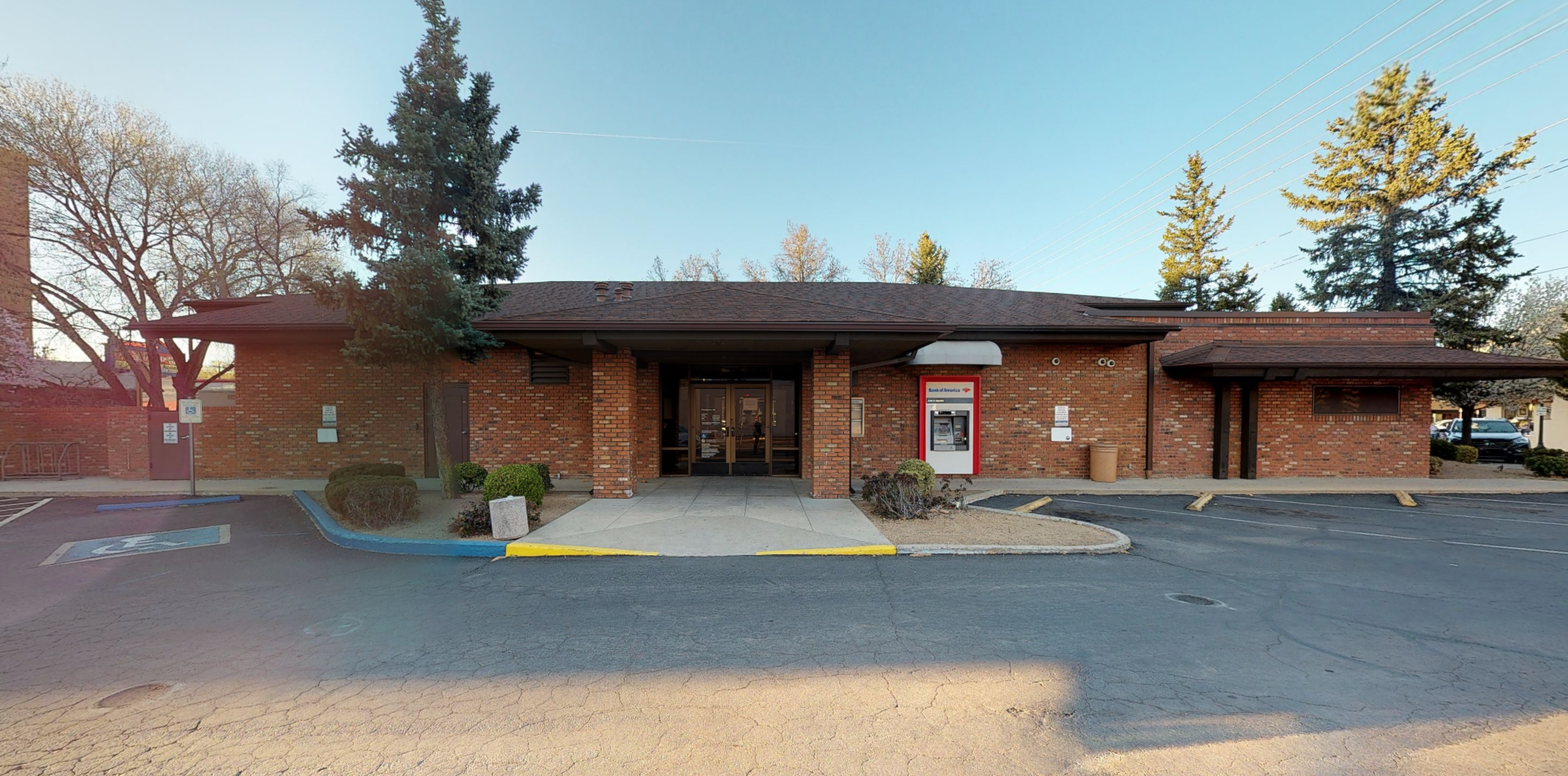 Bank of America financial center with drive-thru ATM   301 W Gurley St, Prescott, AZ 86301