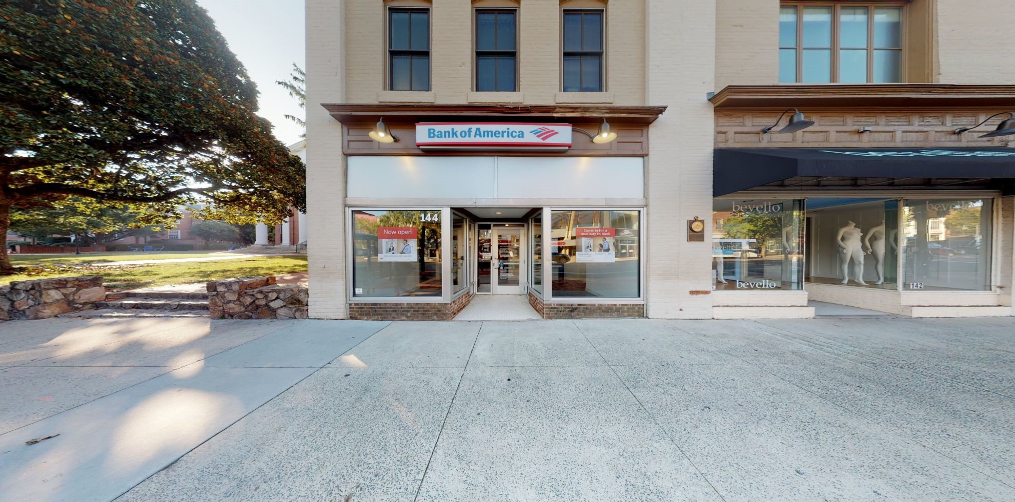 Bank of America Advanced Center with walk-up ATM   144 E Franklin St, Chapel Hill, NC 27514