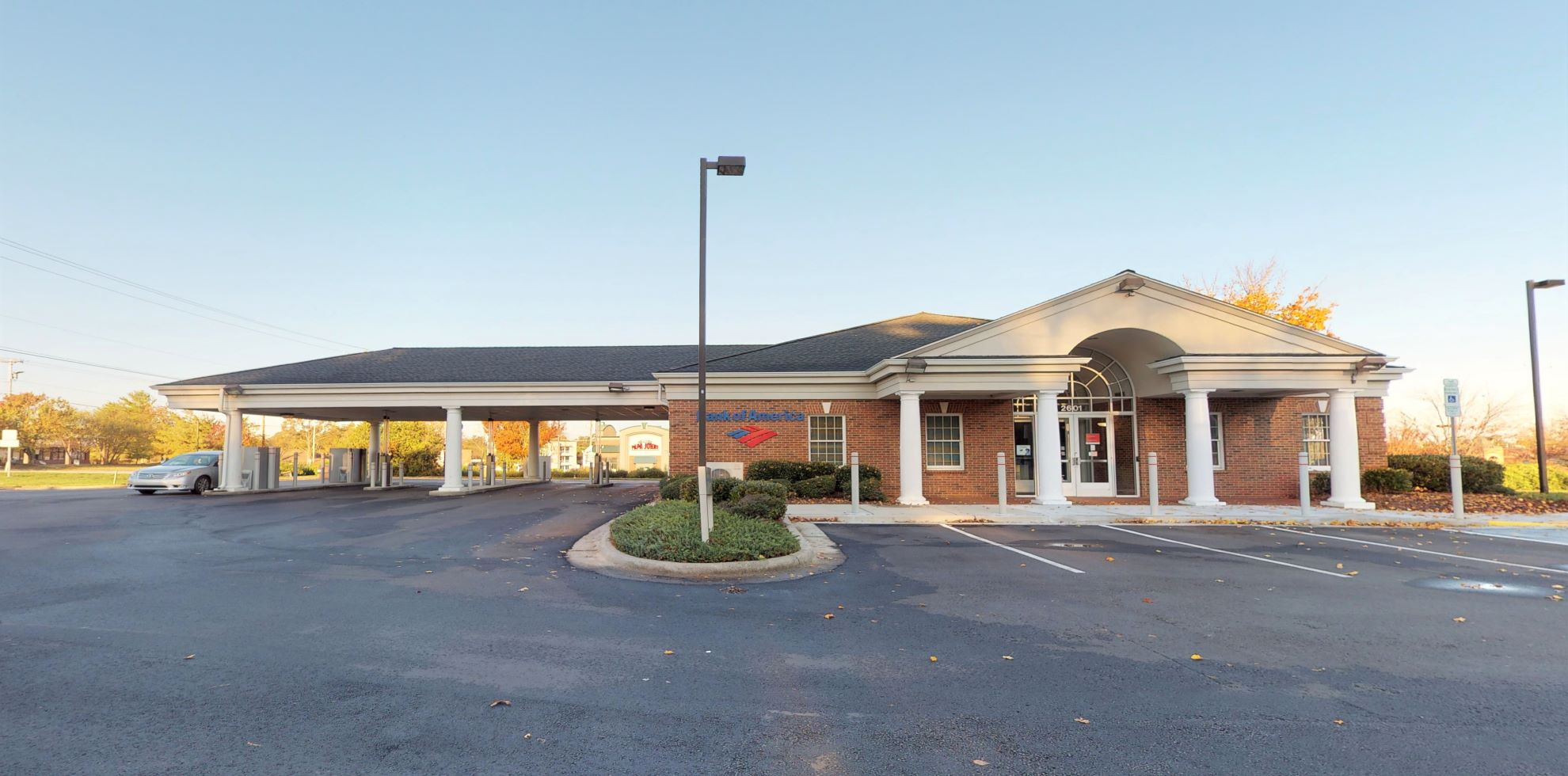 Bank of America financial center with drive-thru ATM | 2601 Eastchester Dr, High Point, NC 27265