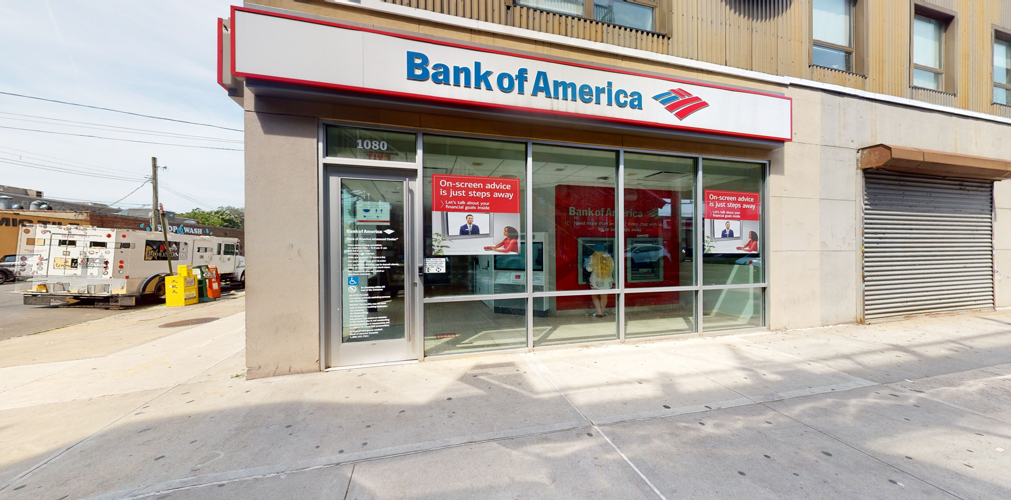 Bank of America Advanced Center with walk-up ATM | 1080 McDonald Ave, Brooklyn, NY 11230