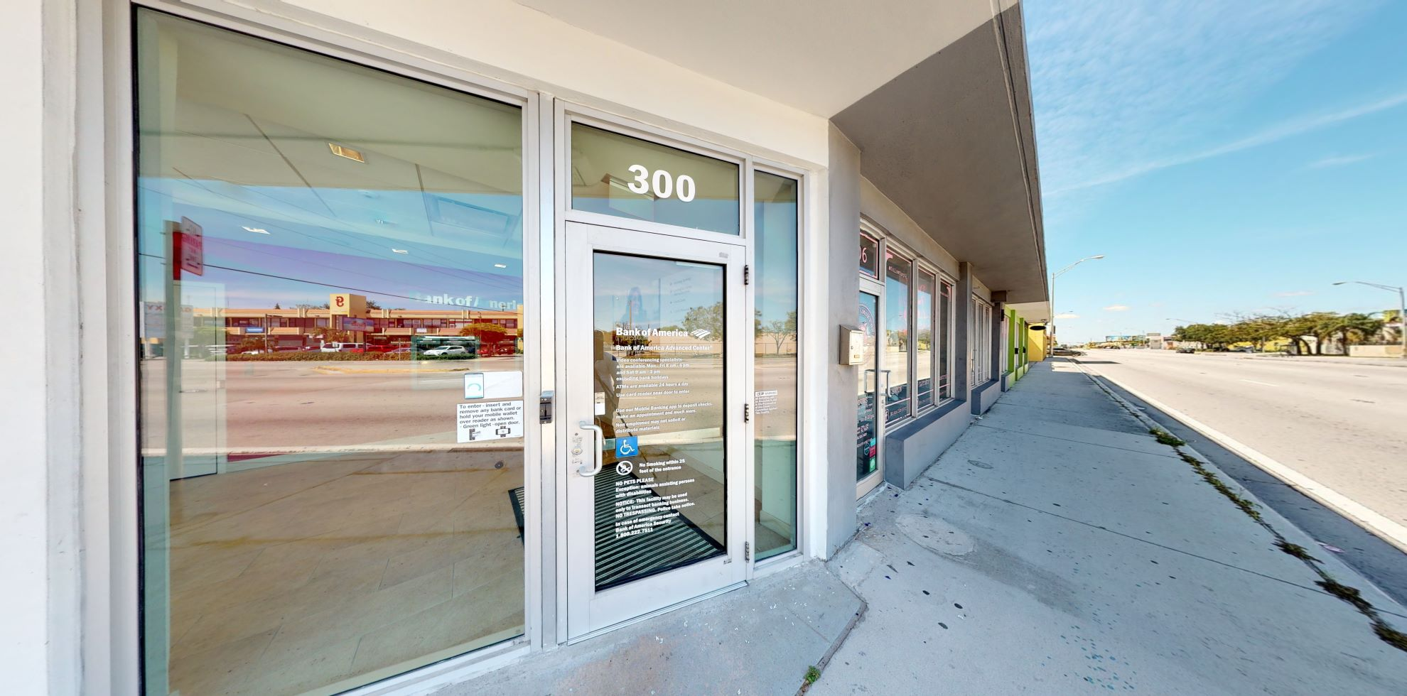 Bank of America Advanced Center with walk-up ATM | 300 NW 27th Ave, Miami, FL 33125