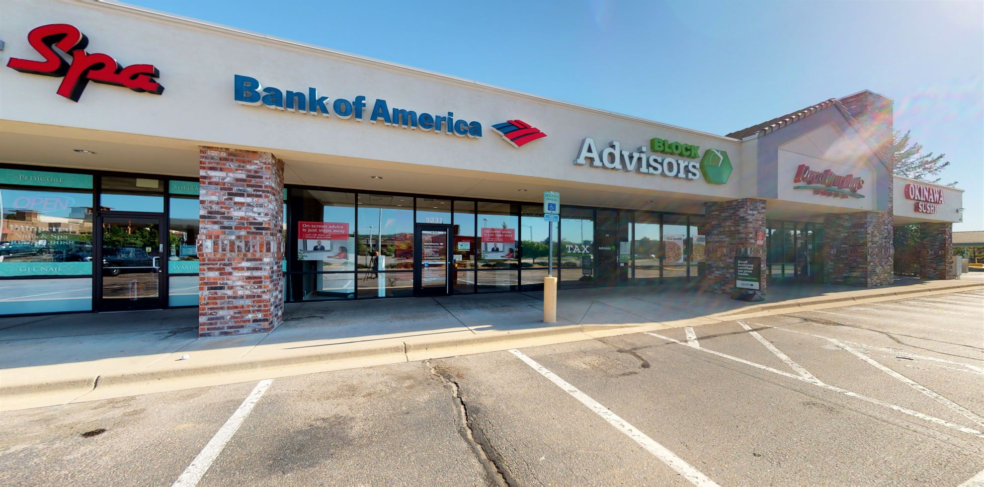 Bank of America Advanced Center with walk-up ATM   9231 E Lincoln Ave, Lone Tree, CO 80124
