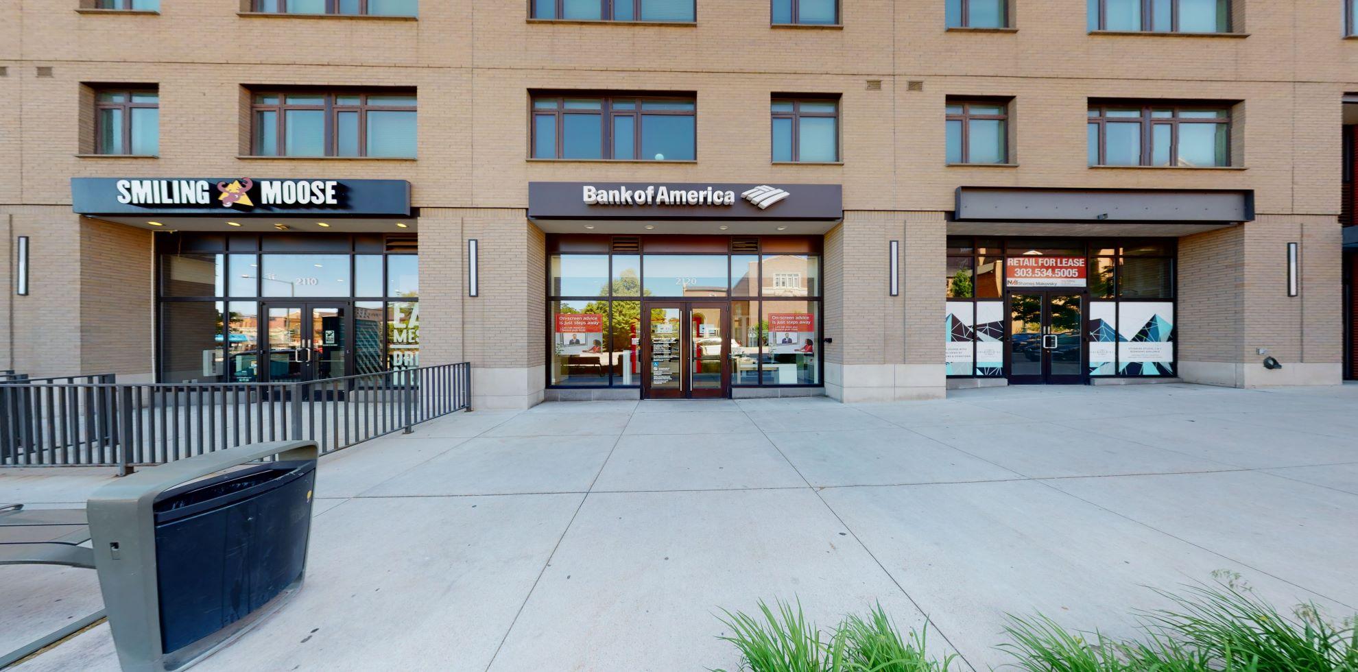 Bank of America Advanced Center with walk-up ATM | 2120 S University Blvd, Denver, CO 80210