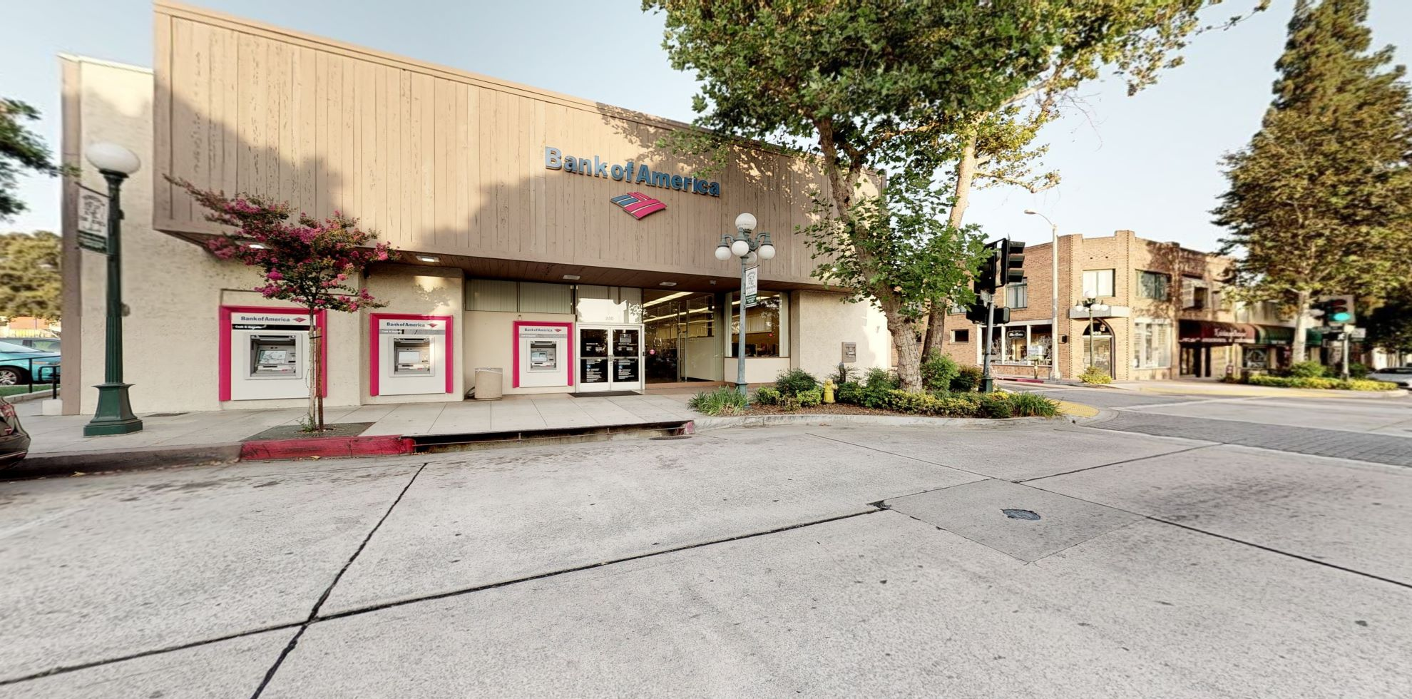 Bank of America financial center with walk-up ATM   230 S Myrtle Ave, Monrovia, CA 91016