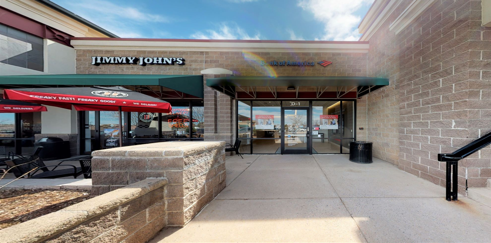 Bank of America Advanced Center with walk-up ATM | 9567 S University Blvd Unit D1, Highlands Ranch, CO 80126