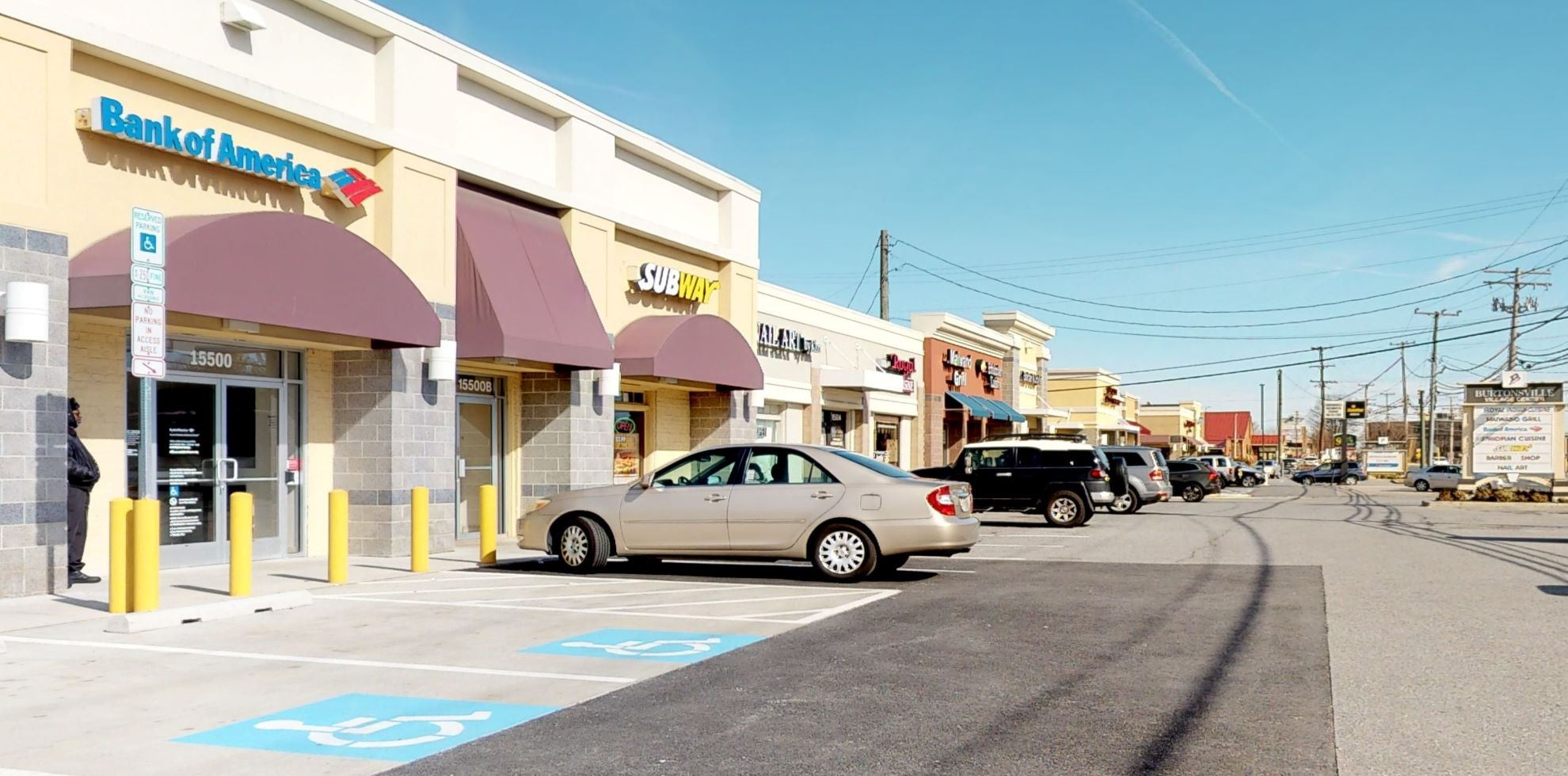 Bank of America Advanced Center with walk-up ATM | 15500 Old Columbia Pike, Burtonsville, MD 20866