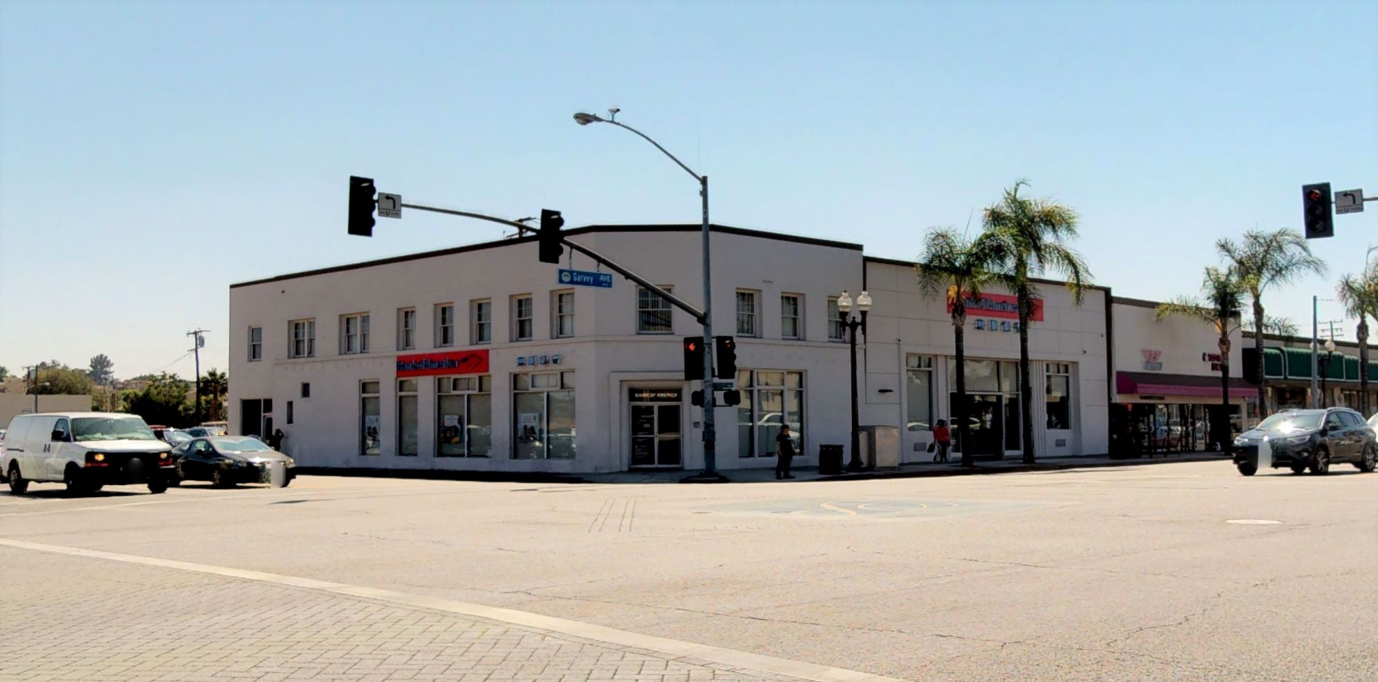 Bank of America financial center with walk-up ATM | 110 W Garvey Ave, Monterey Park, CA 91754