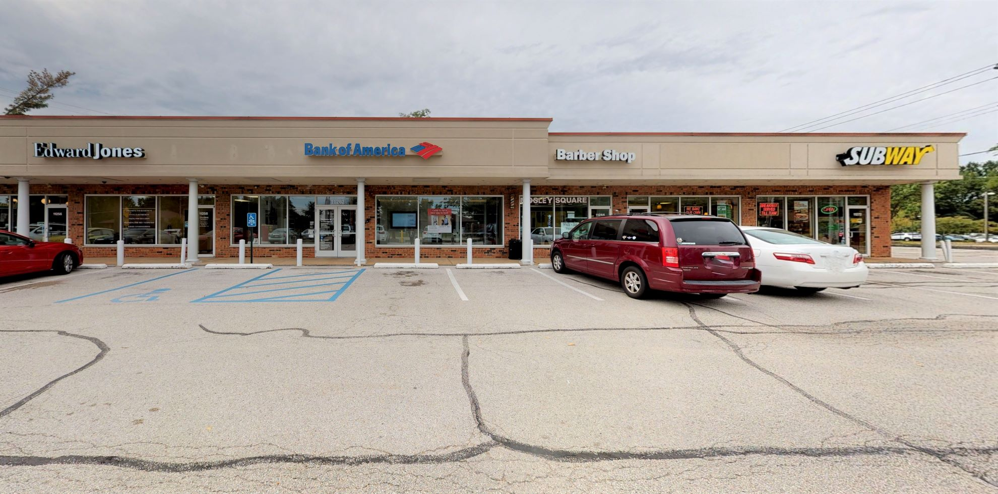 Bank of America Advanced Center with walk-up ATM | 11262 Olive Blvd, Saint Louis, MO 63141