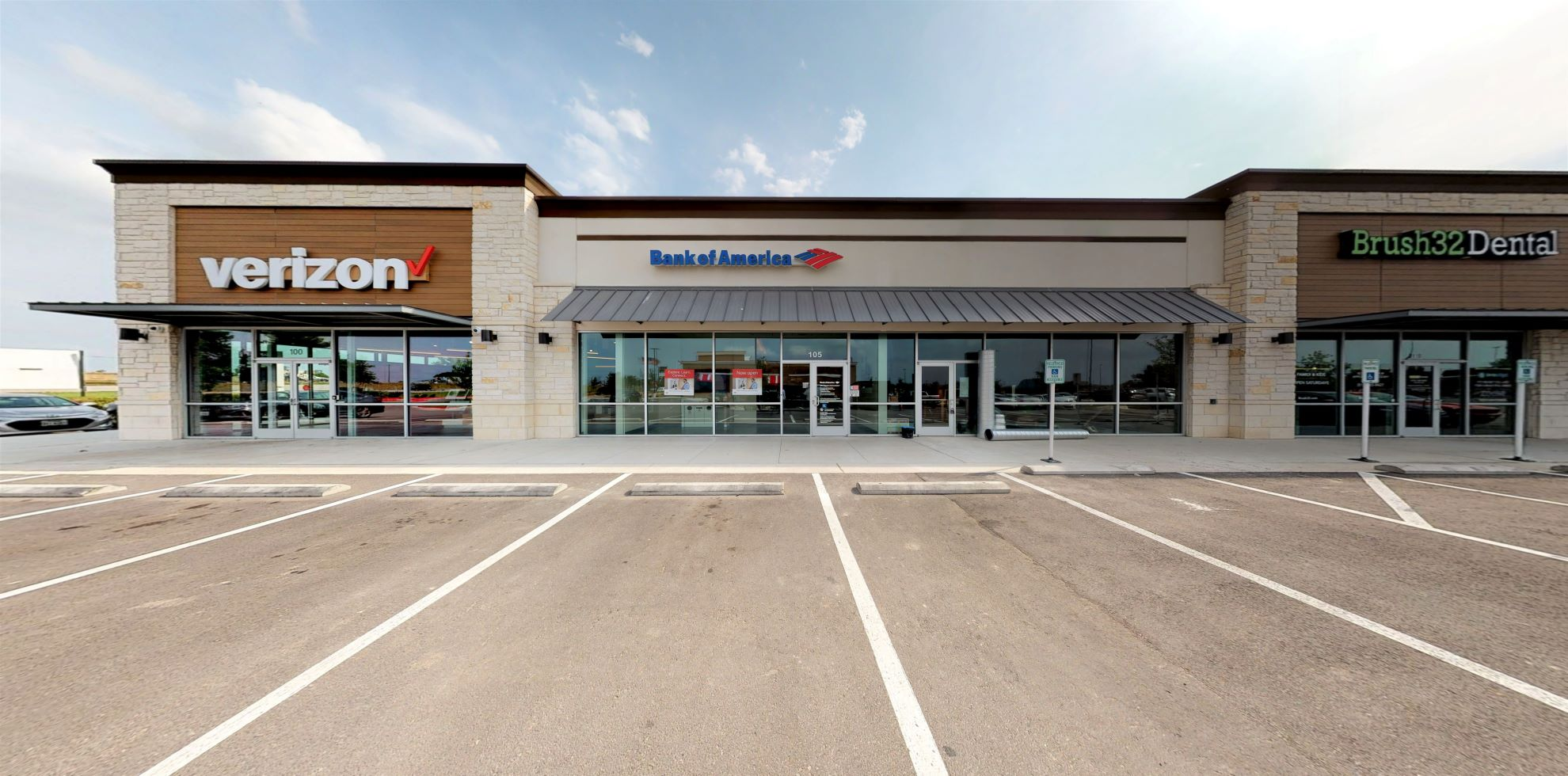 Bank of America Advanced Center with walk-up ATM   15550 S IH 35 Frontage Rd STE 105, Buda, TX 78610