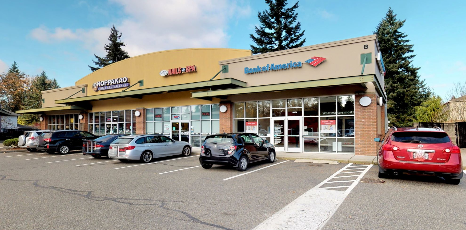 Bank of America Advanced Center with walk-up ATM   4809 132nd St SE, Everett, WA 98208