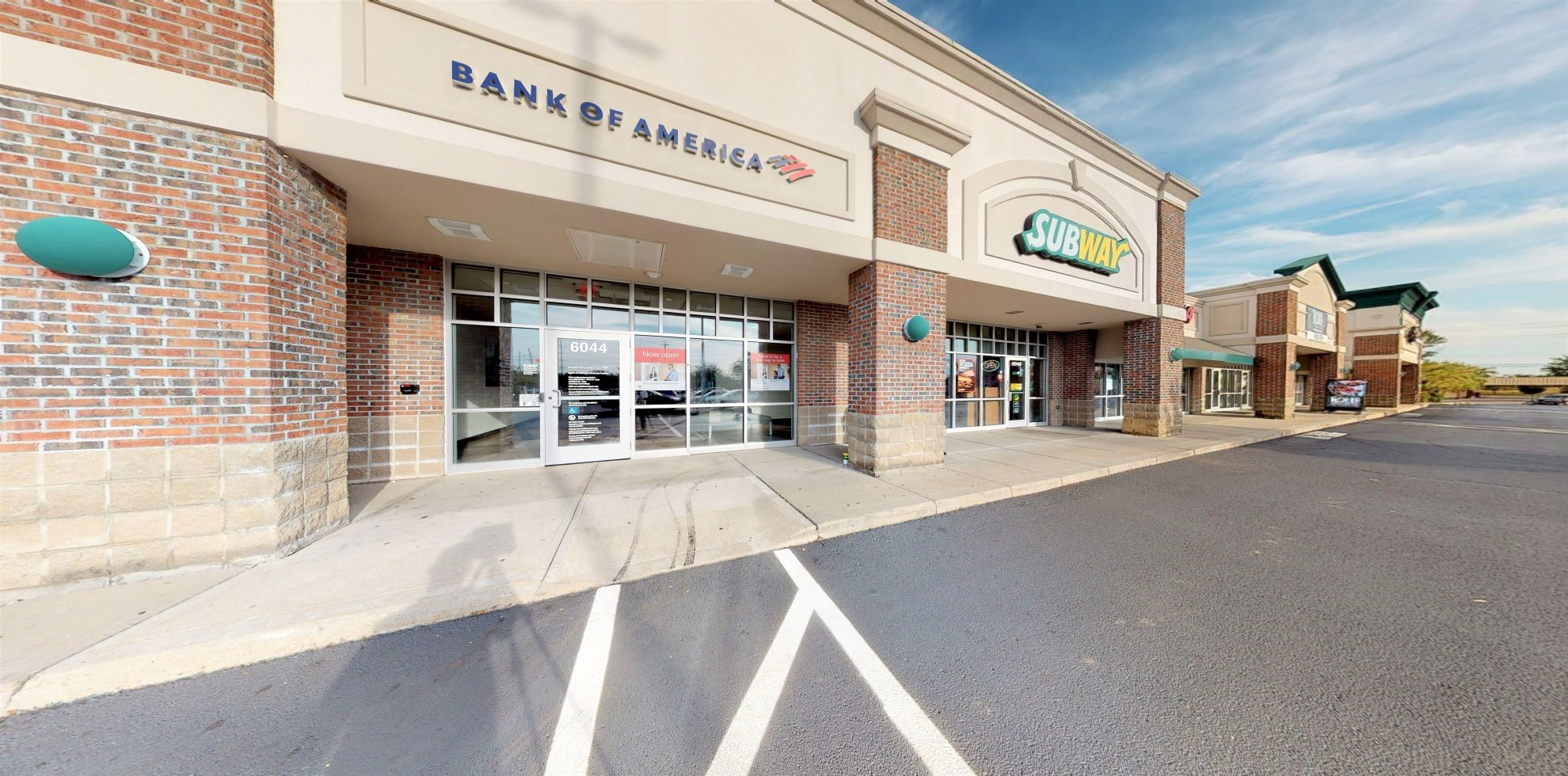 Bank of America Advanced Center with walk-up ATM   6044 State Rd 48, Maineville, OH 45039