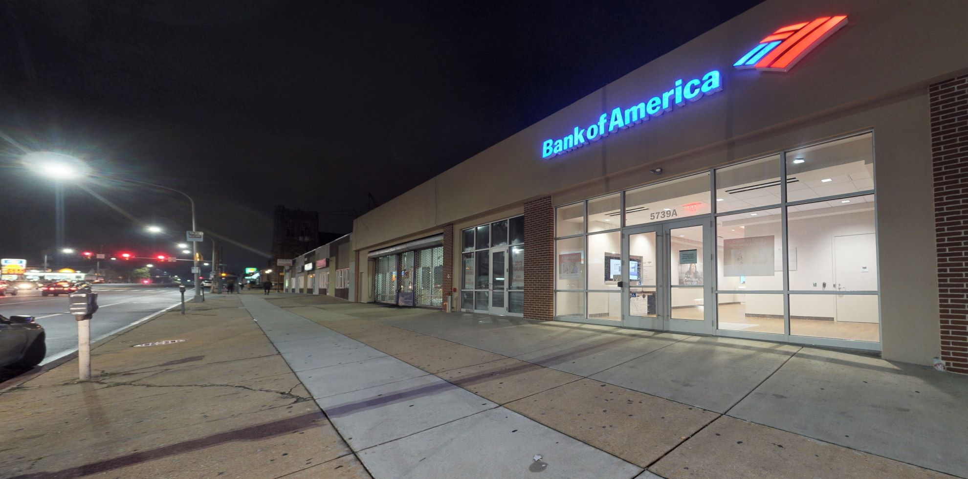 Bank of America Advanced Center with walk-up ATM   5739 N Broad St Unit A, Philadelphia, PA 19141