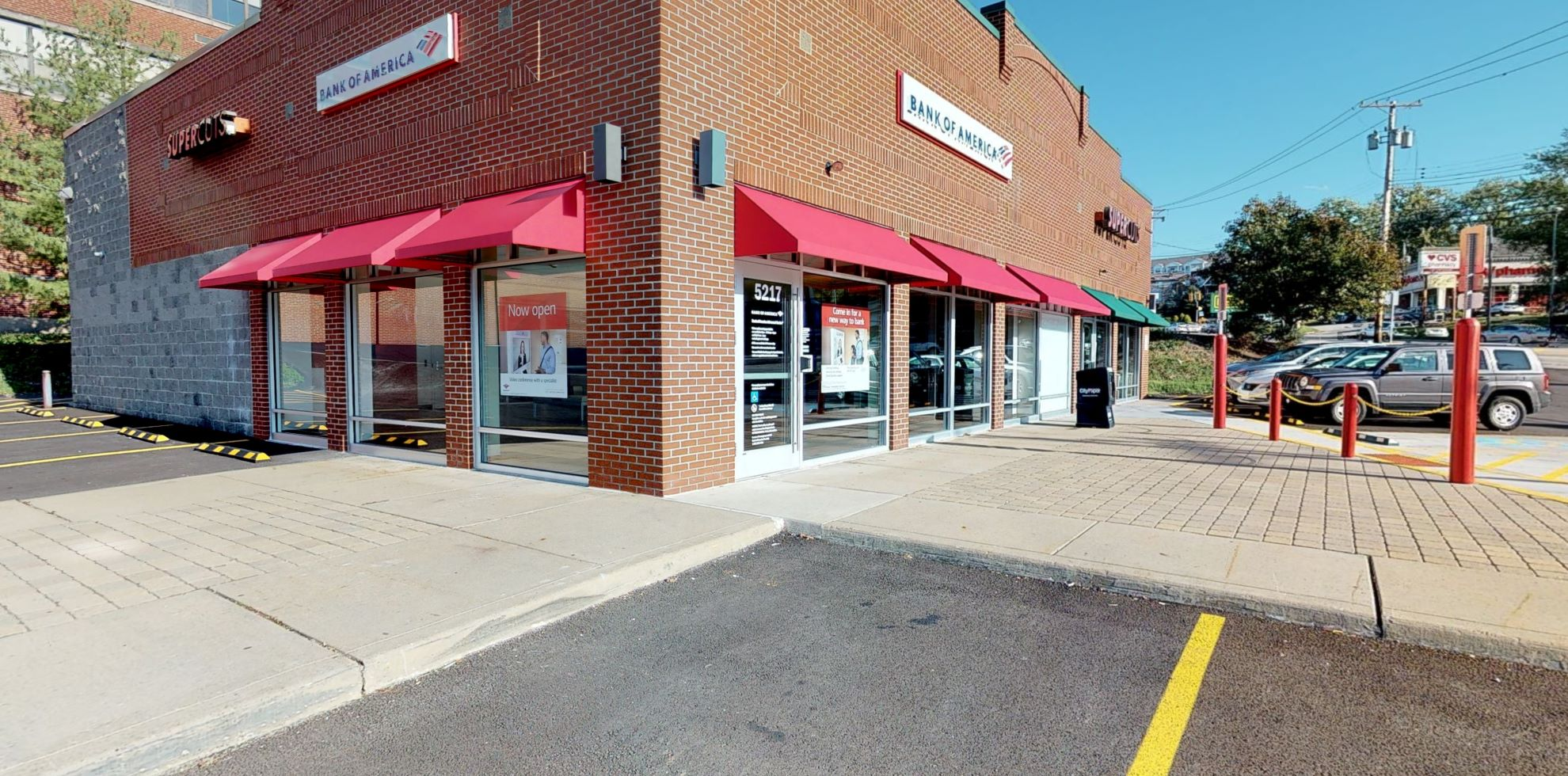 Bank of America Advanced Center with walk-up ATM | 5217 Clairton Blvd, Pittsburgh, PA 15236