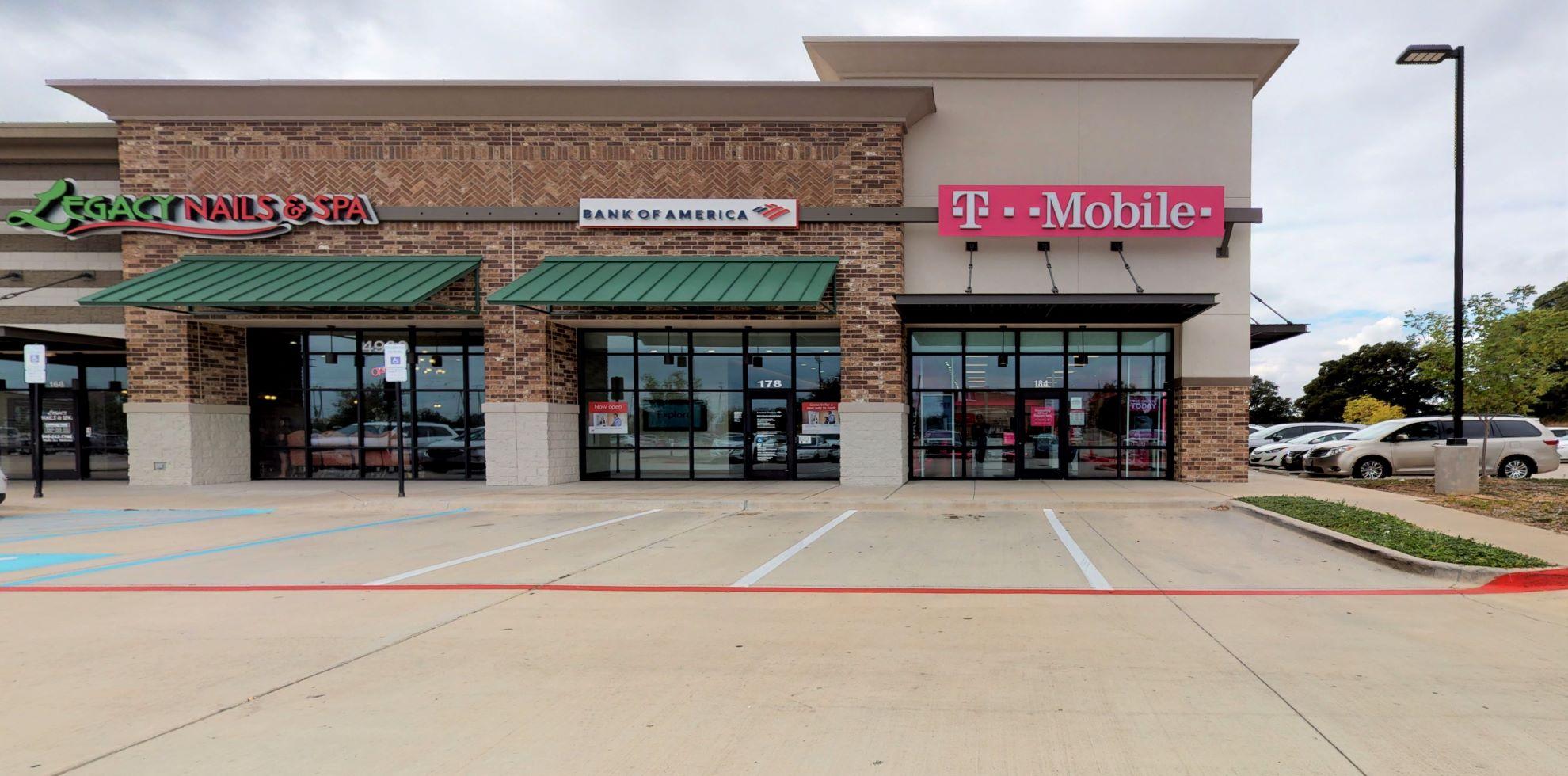 Bank of America Advanced Center with walk-up ATM   4920 Teasley Ln STE 176, Denton, TX 76210