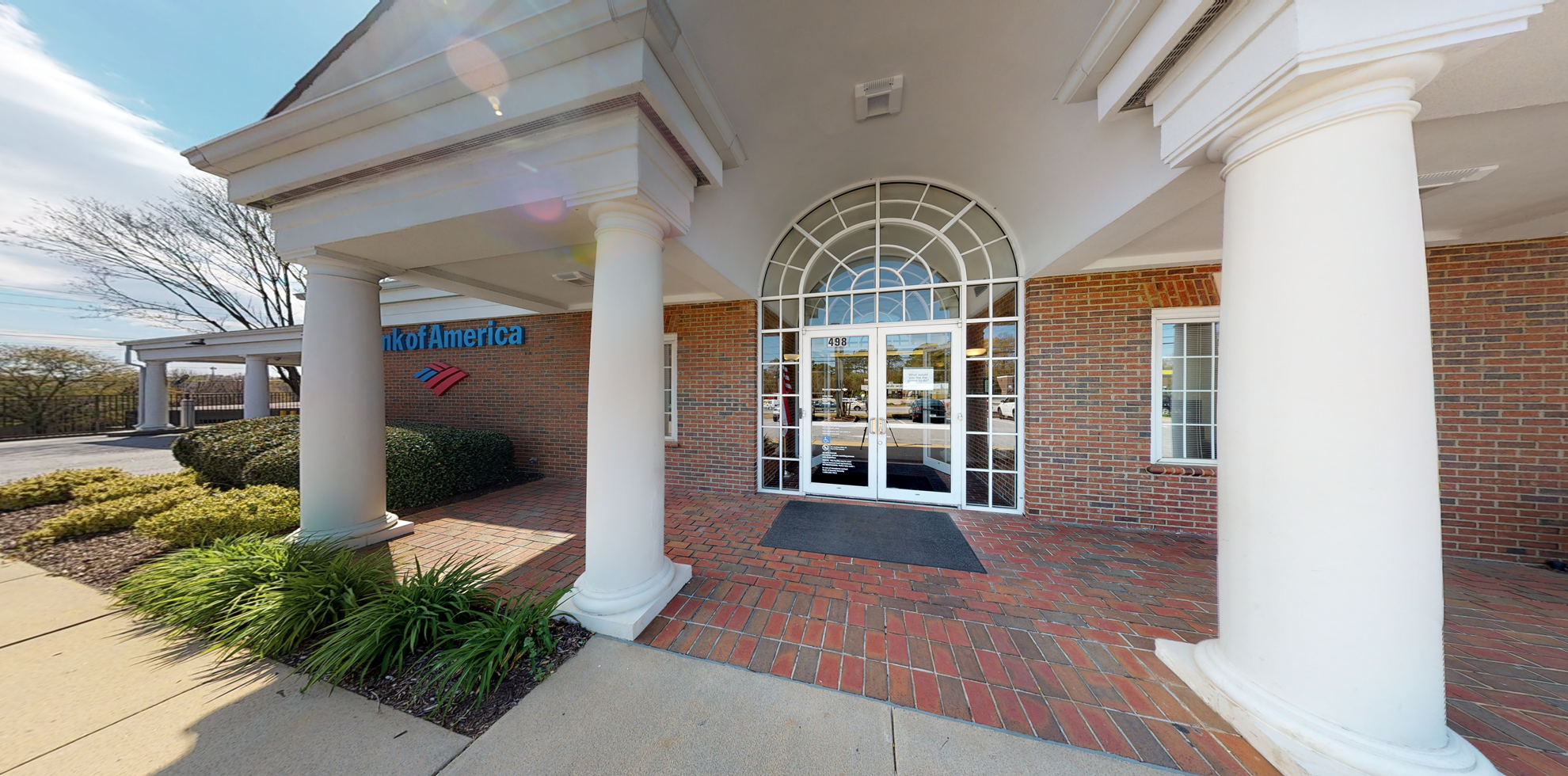 Bank of America financial center with drive-thru ATM | 498 S Pleasantburg Dr, Greenville, SC 29607