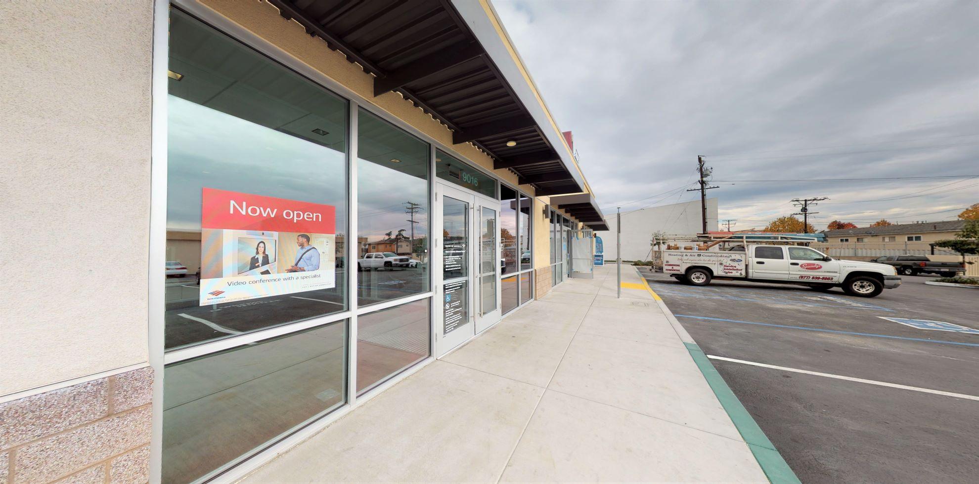 Bank of America Advanced Center with walk-up ATM   9016 Huntington Dr, San Gabriel, CA 91775