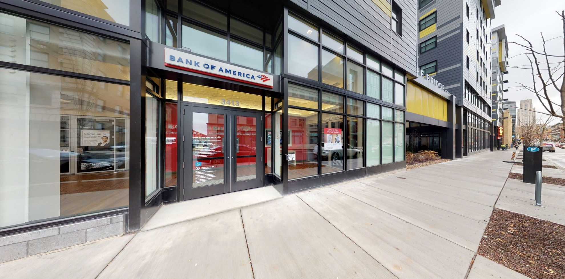 Bank of America Advanced Center with walk-up ATM | 3413 Forbes Ave, Pittsburgh, PA 15213